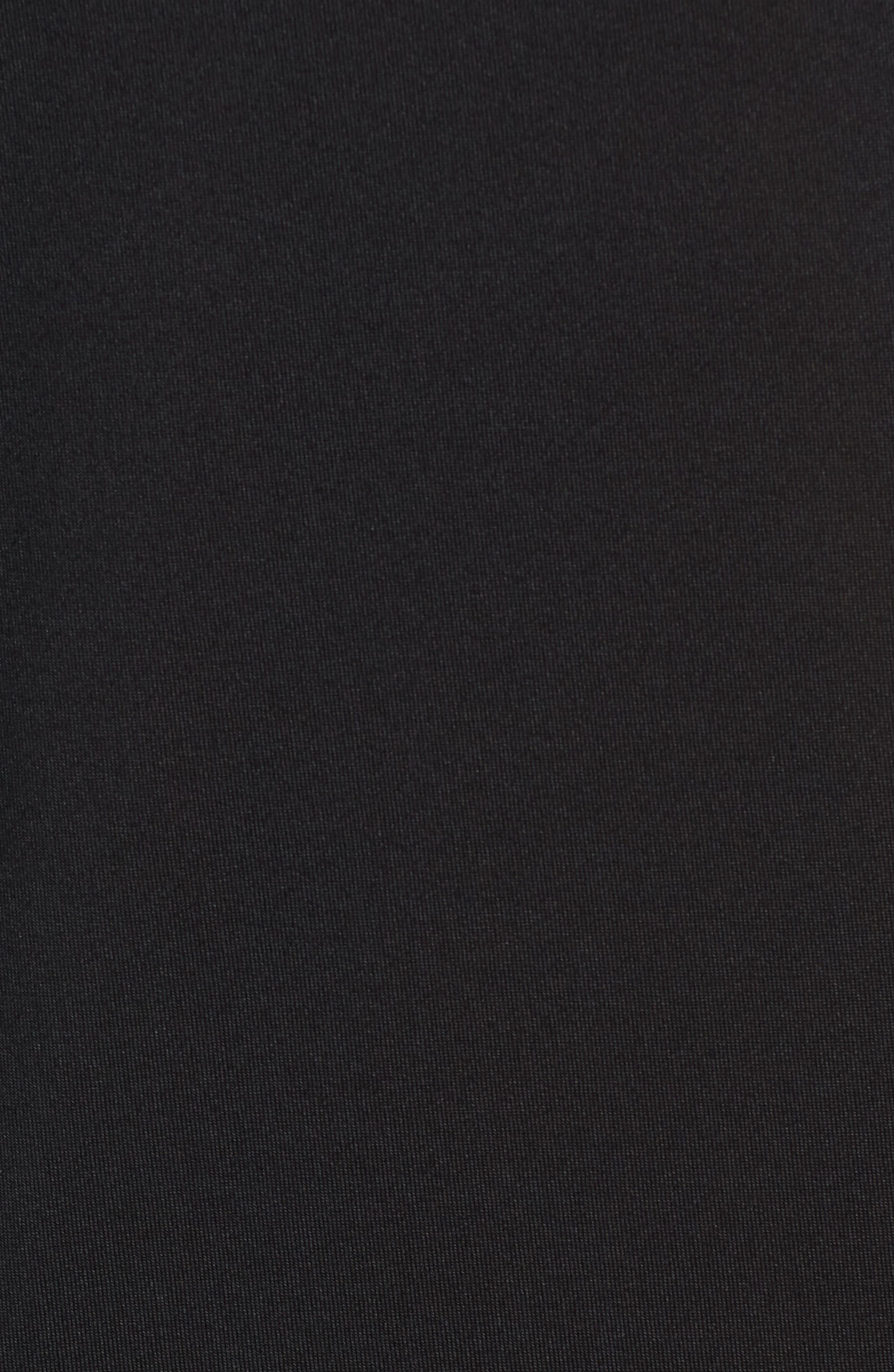 Goodsport Mesh Panel T-Shirt,                             Alternate thumbnail 5, color,                             001