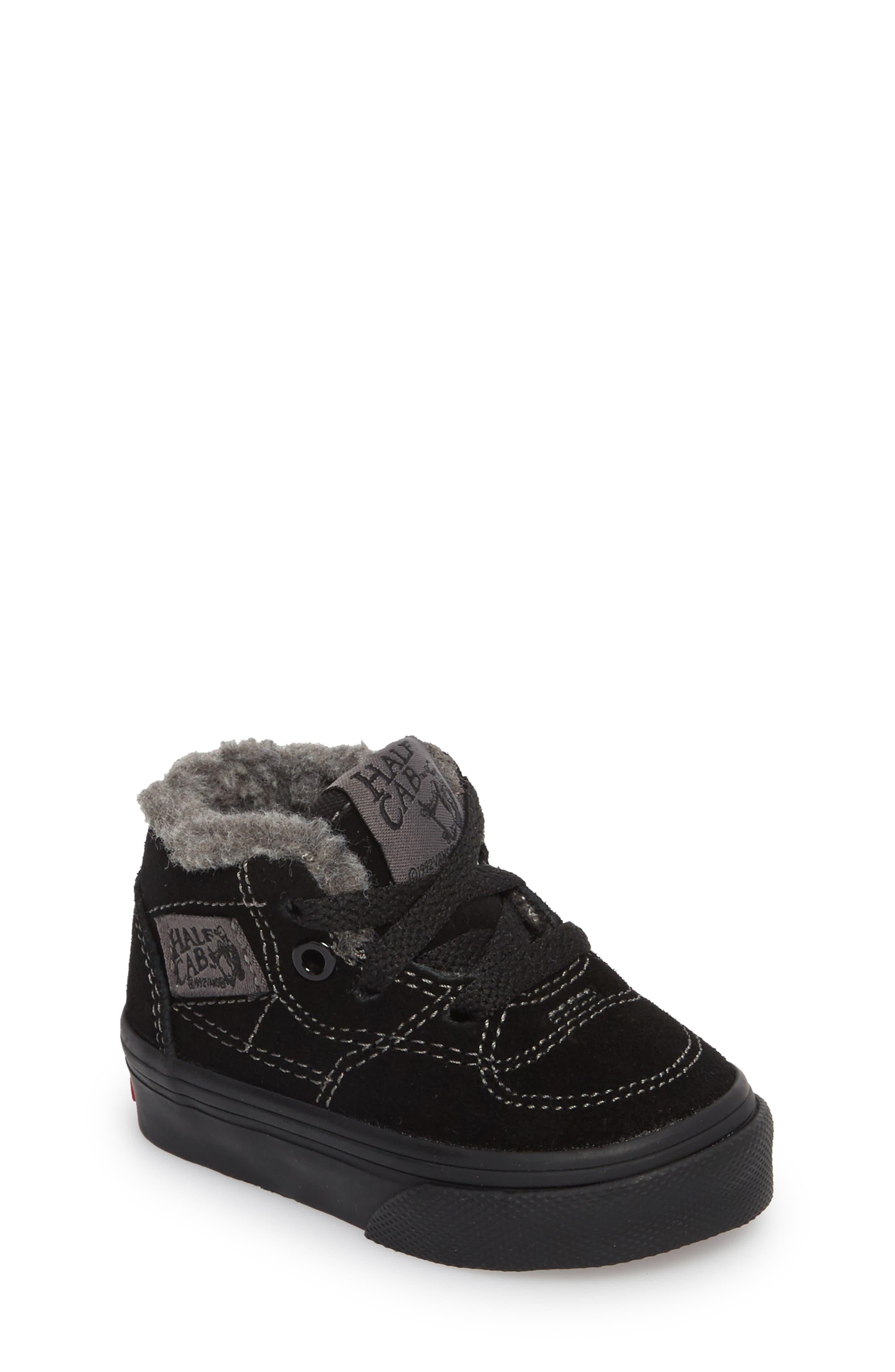 Half Cab Sneaker,                             Main thumbnail 1, color,                             001