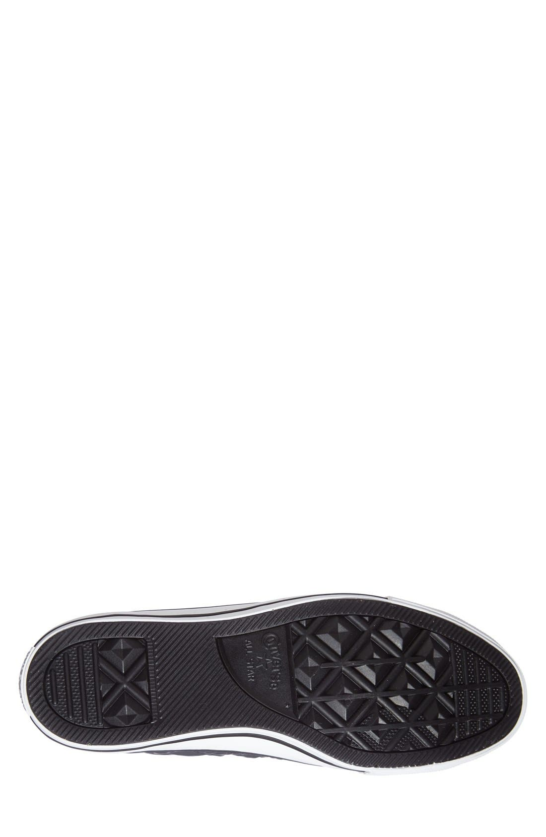 CONVERSE,                             Chuck Taylor<sup>®</sup> All Star<sup>®</sup> Quilted High Top Sneaker,                             Alternate thumbnail 4, color,                             020
