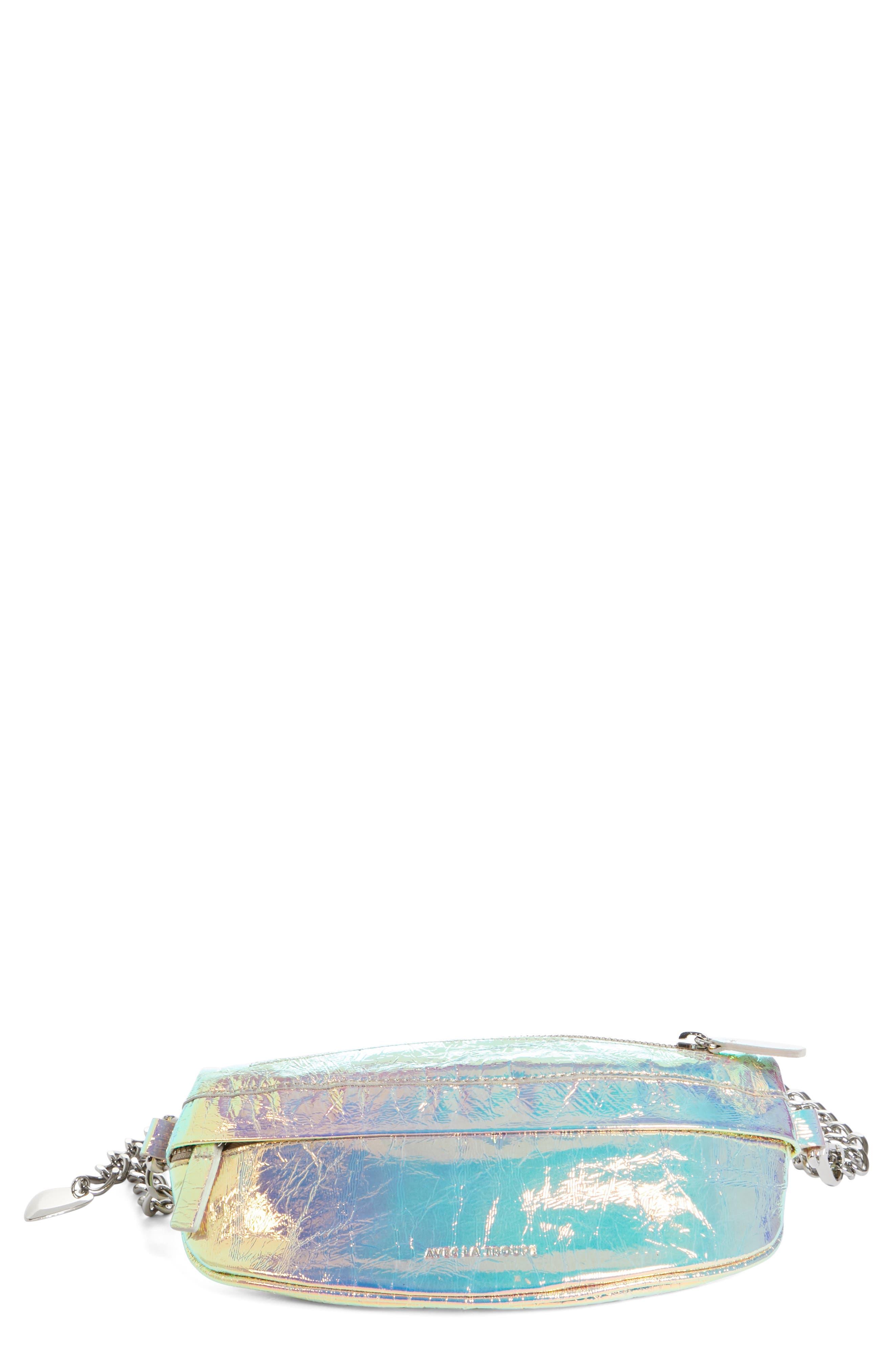 Mini Metallic Troupe Convertible Belt Bag,                             Main thumbnail 1, color,                             040