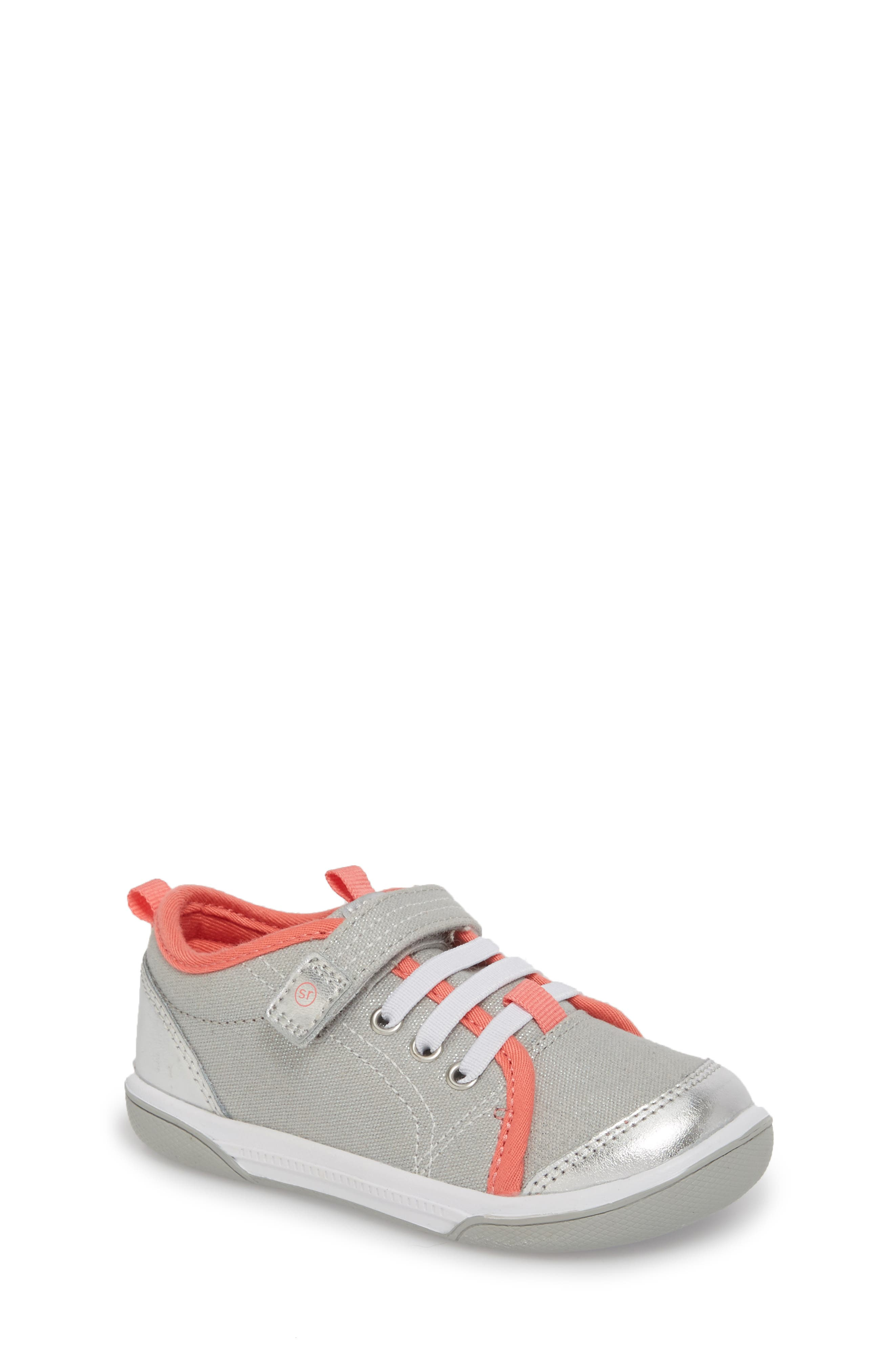 Dakota Sneaker,                             Main thumbnail 1, color,                             LIGHT GREY CANVAS