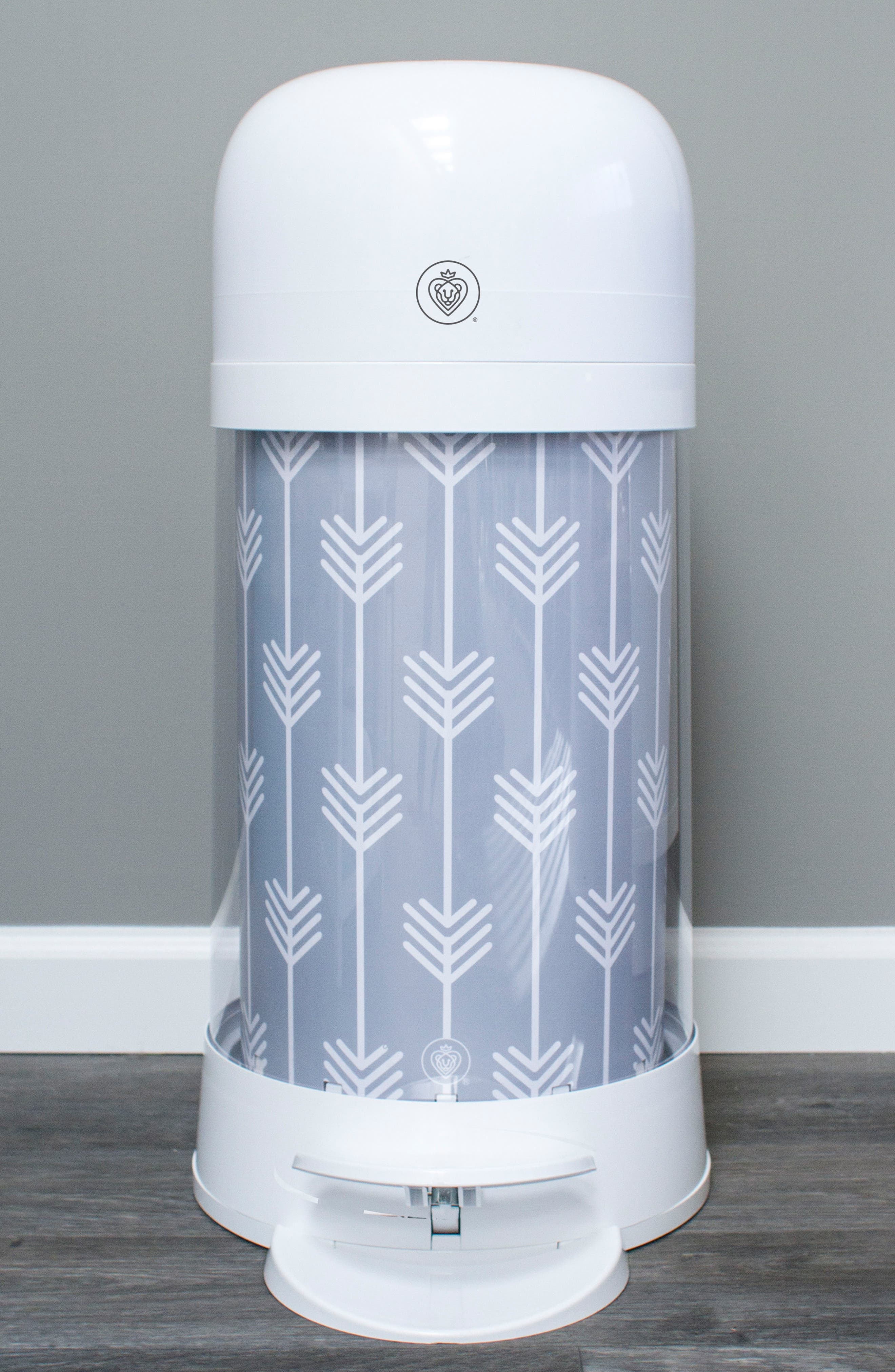 Twist'r Diaper Disposal System,                             Alternate thumbnail 2, color,                             GREY ARROW