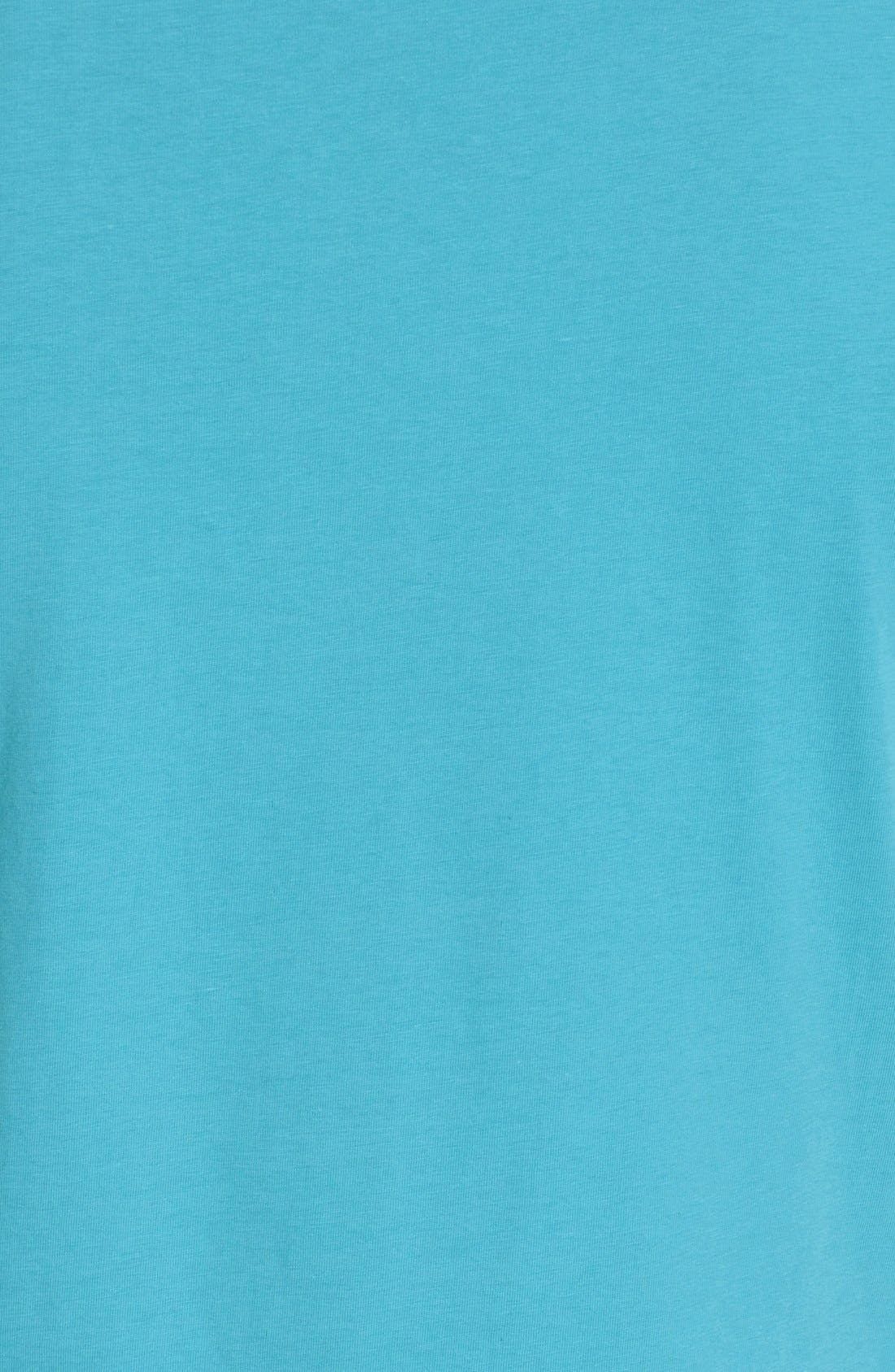 VERSACE JEANS,                             Diamond Print T-Shirt,                             Alternate thumbnail 5, color,                             440