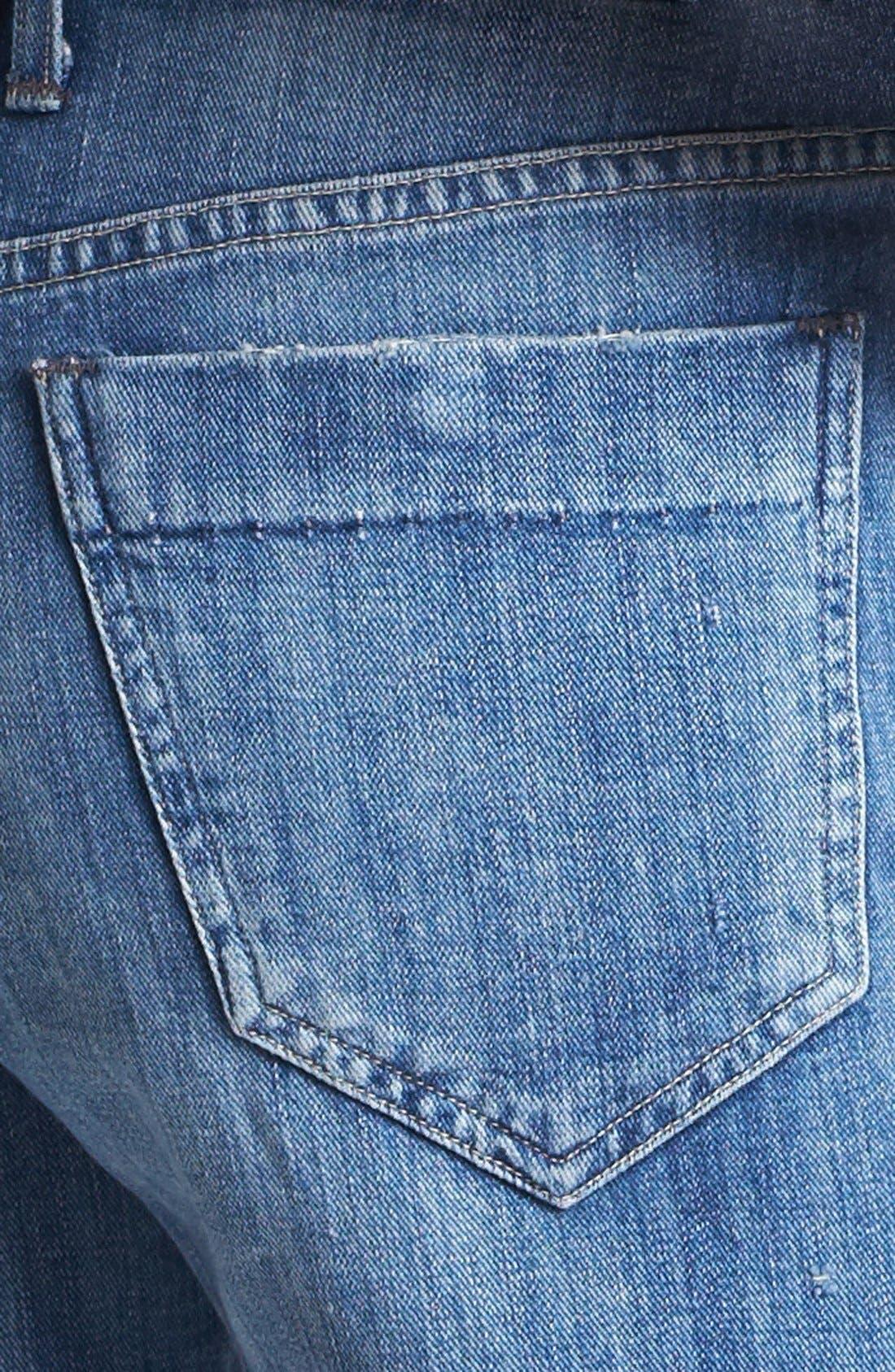 'Ines' Cutoff Shorts,                             Alternate thumbnail 2, color,