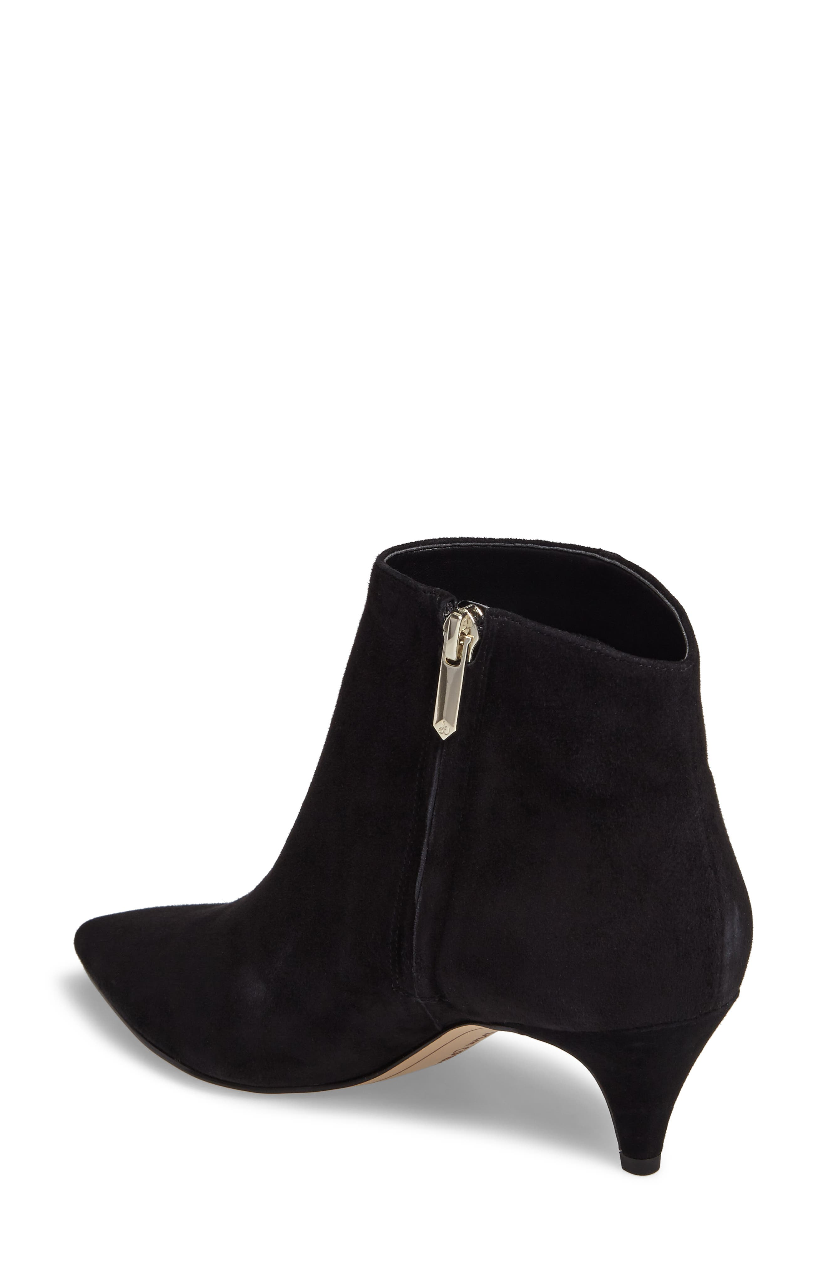 Kinzey Pointy Toe Bootie,                             Alternate thumbnail 2, color,                             001