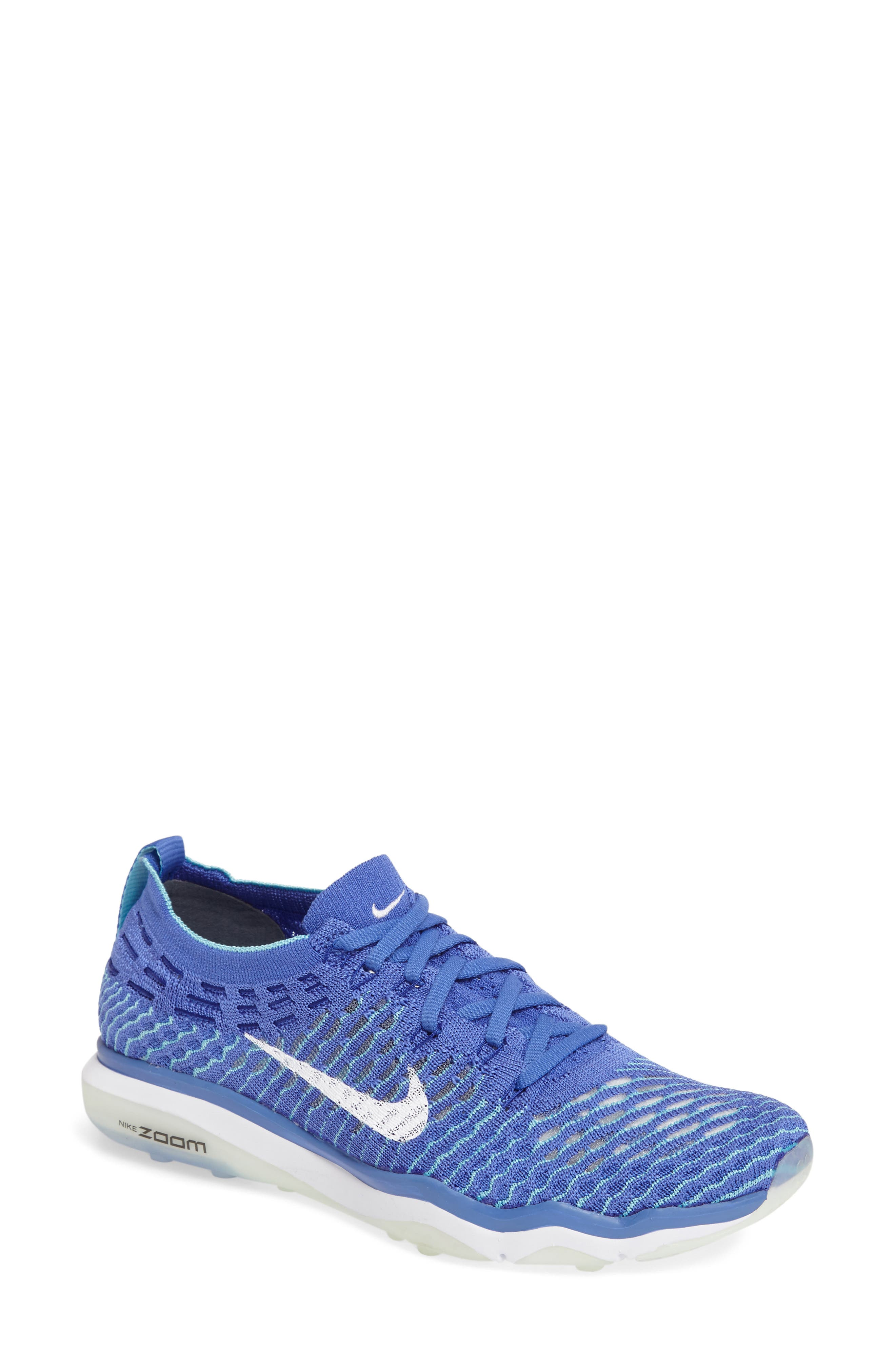 Air Zoom Fearless Flyknit Training Shoe,                             Main thumbnail 9, color,