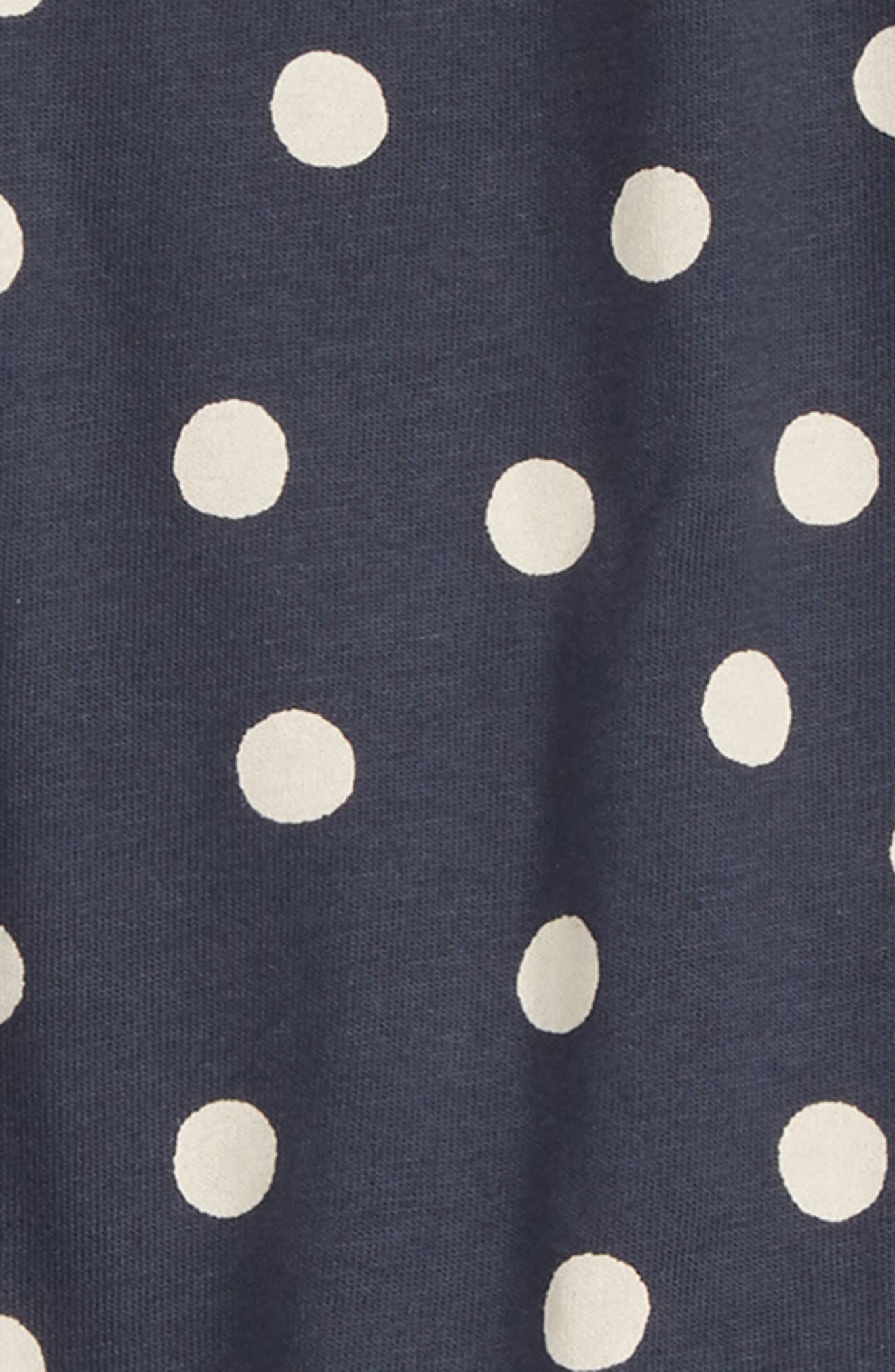 Dot Cotton Romper,                             Alternate thumbnail 2, color,                             482