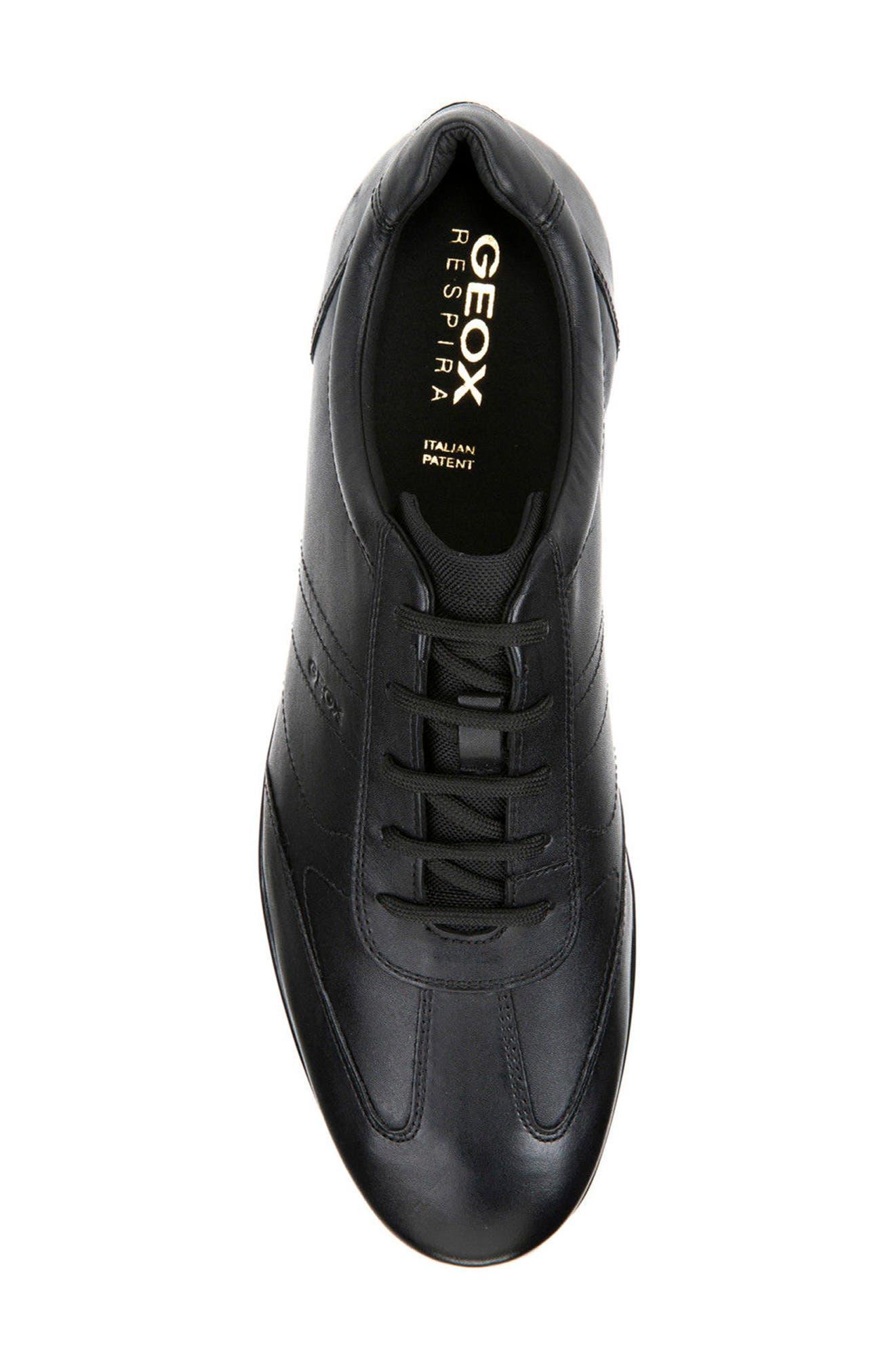 Symbol 19 Euro Sneaker,                             Alternate thumbnail 5, color,                             BLACK