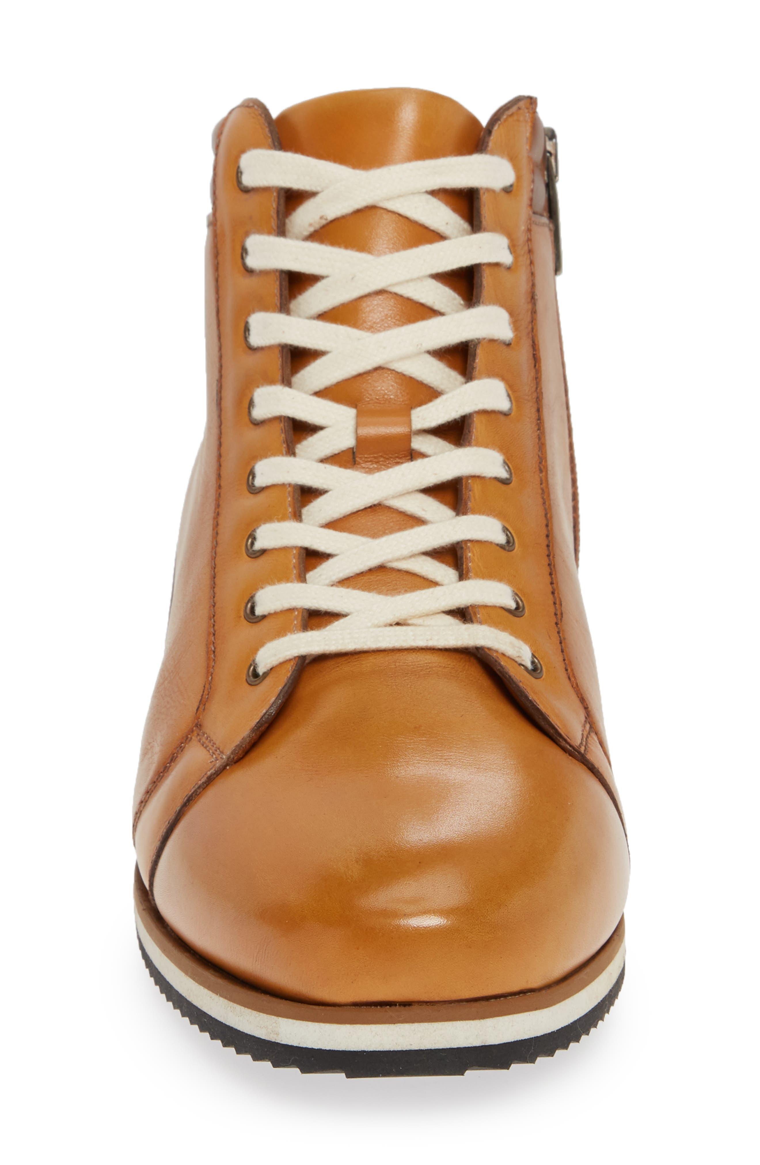 Niro Sneaker,                             Alternate thumbnail 4, color,                             TAN LEATHER