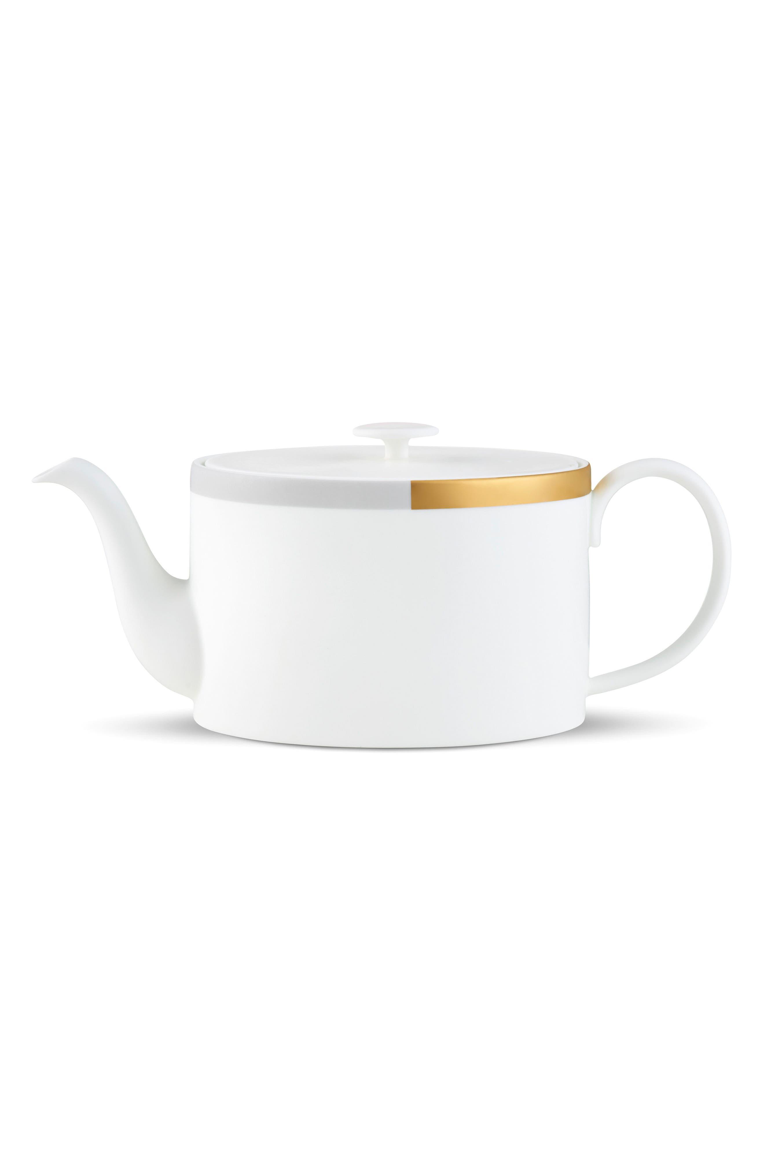 x Wedgewood Castillon Teapot,                         Main,                         color, 100