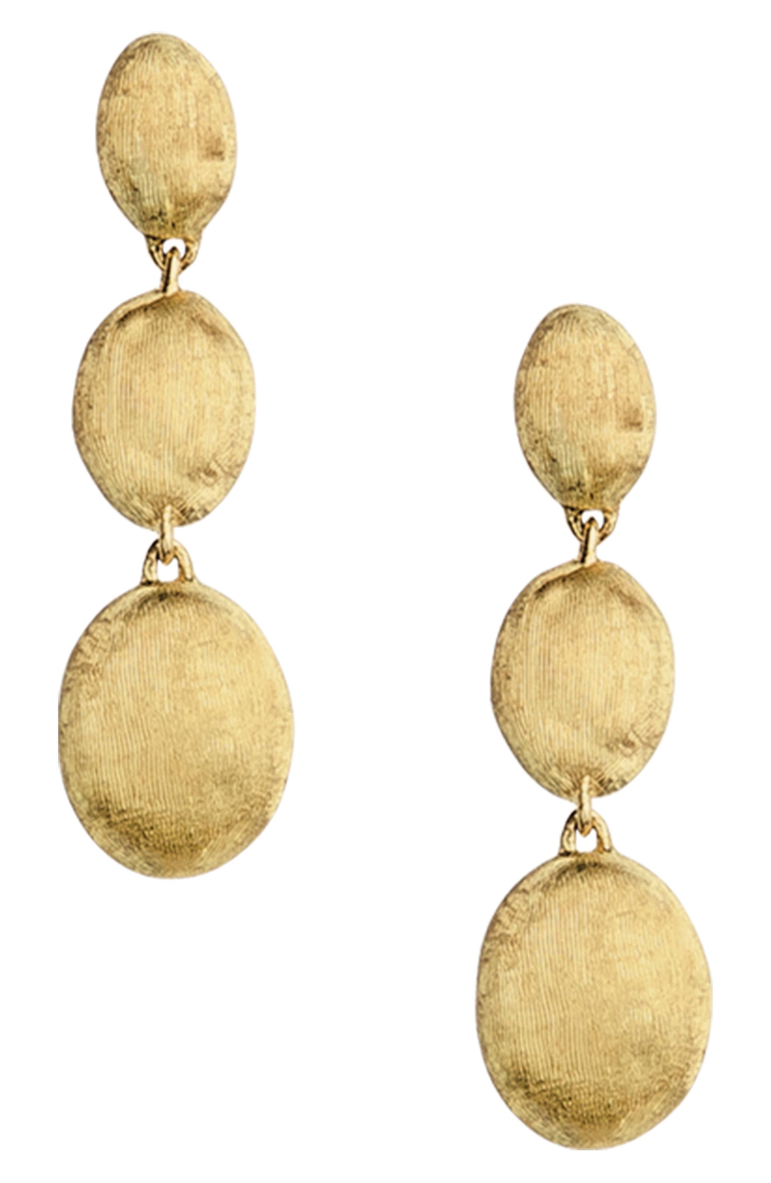 'Siviglia' Drop Earrings,                             Main thumbnail 1, color,                             YELLOW GOLD