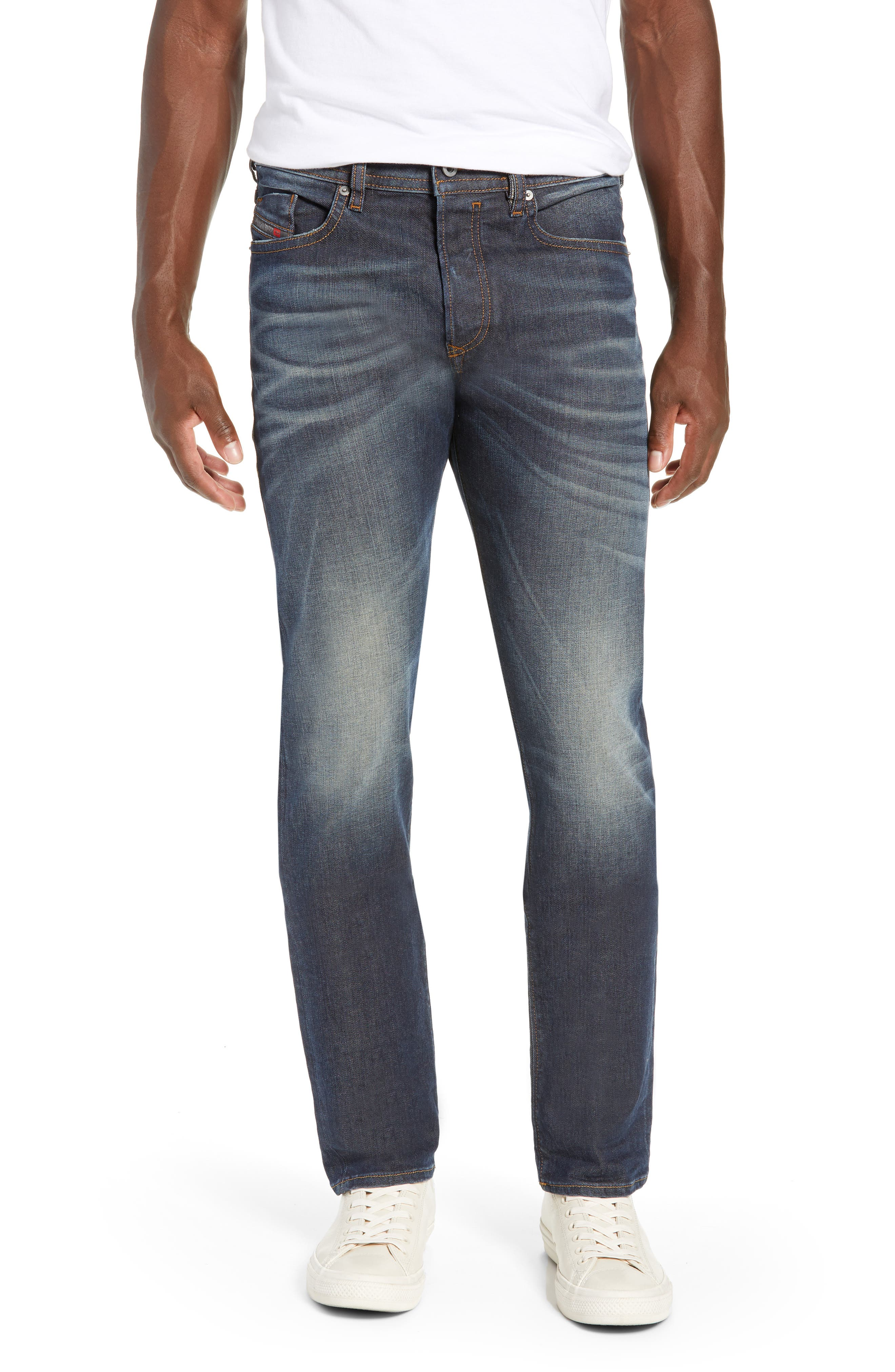 Buster Slim Straight Leg Jeans,                             Main thumbnail 1, color,                             084ZU