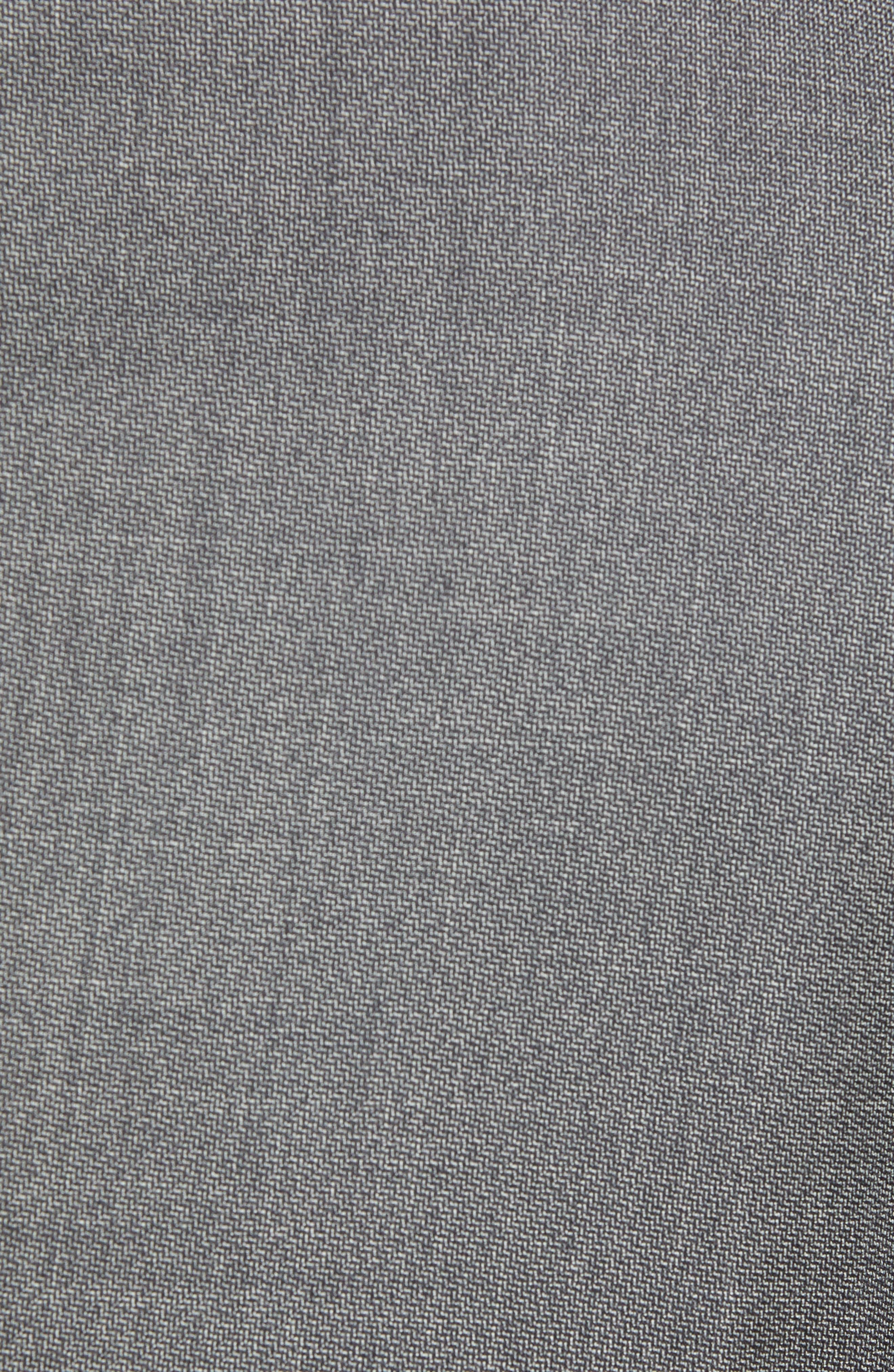 Novan/Ben Trim Fit Solid Wool Suit,                             Alternate thumbnail 7, color,                             GREY