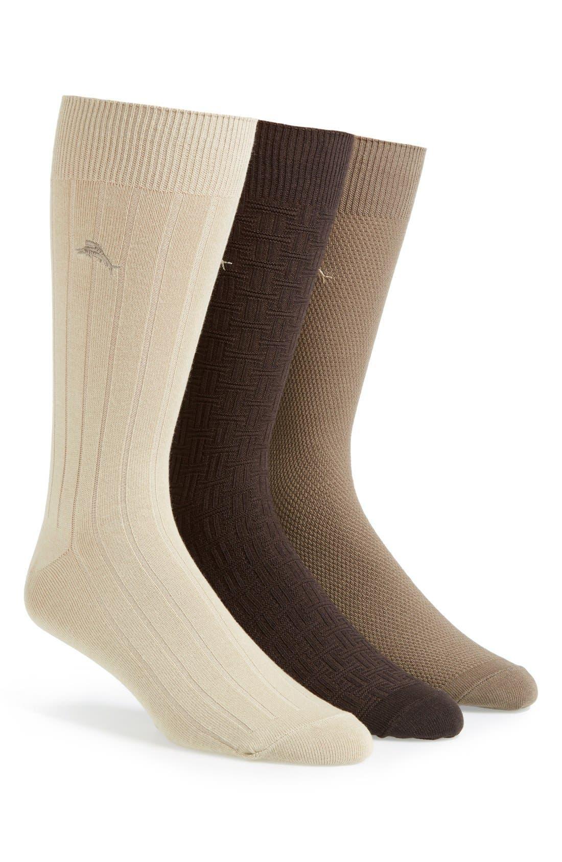 Cotton Blend Socks, Main, color, 250