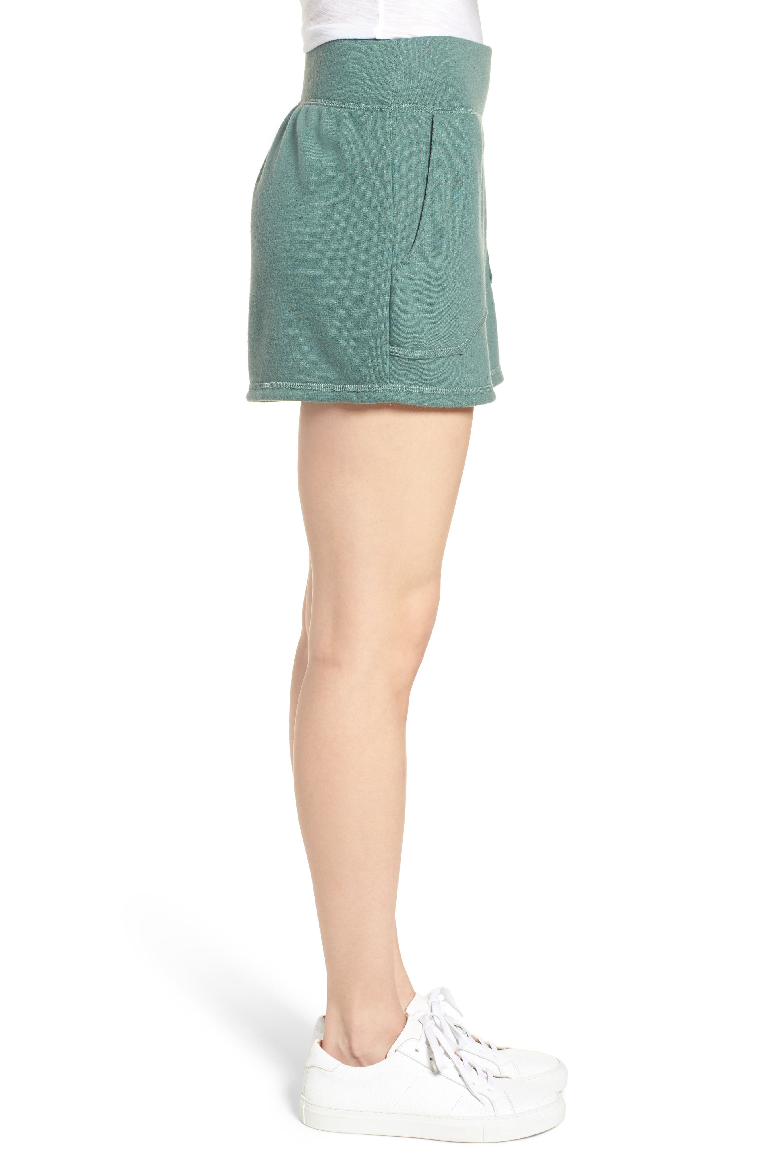 Off-Duty French Terry Shorts,                             Alternate thumbnail 14, color,