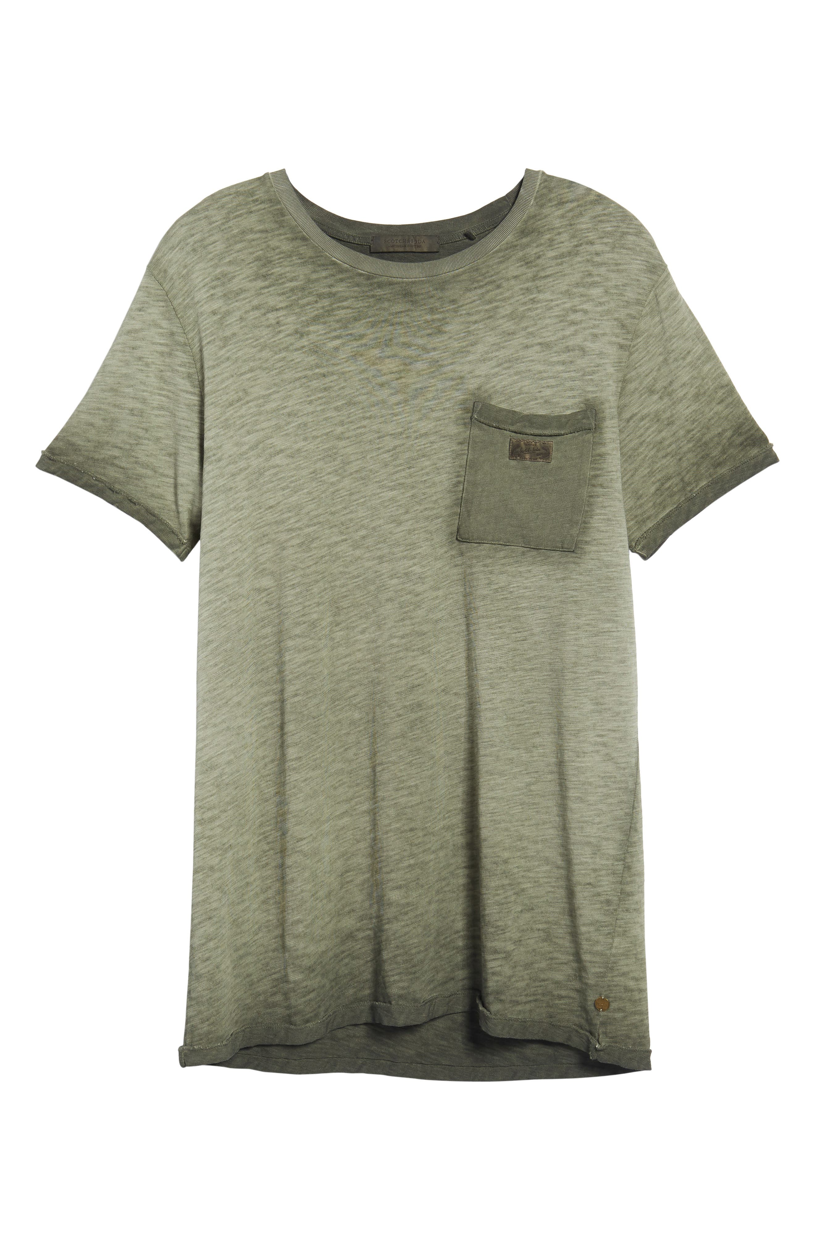 Oil Washed T-Shirt,                             Alternate thumbnail 23, color,