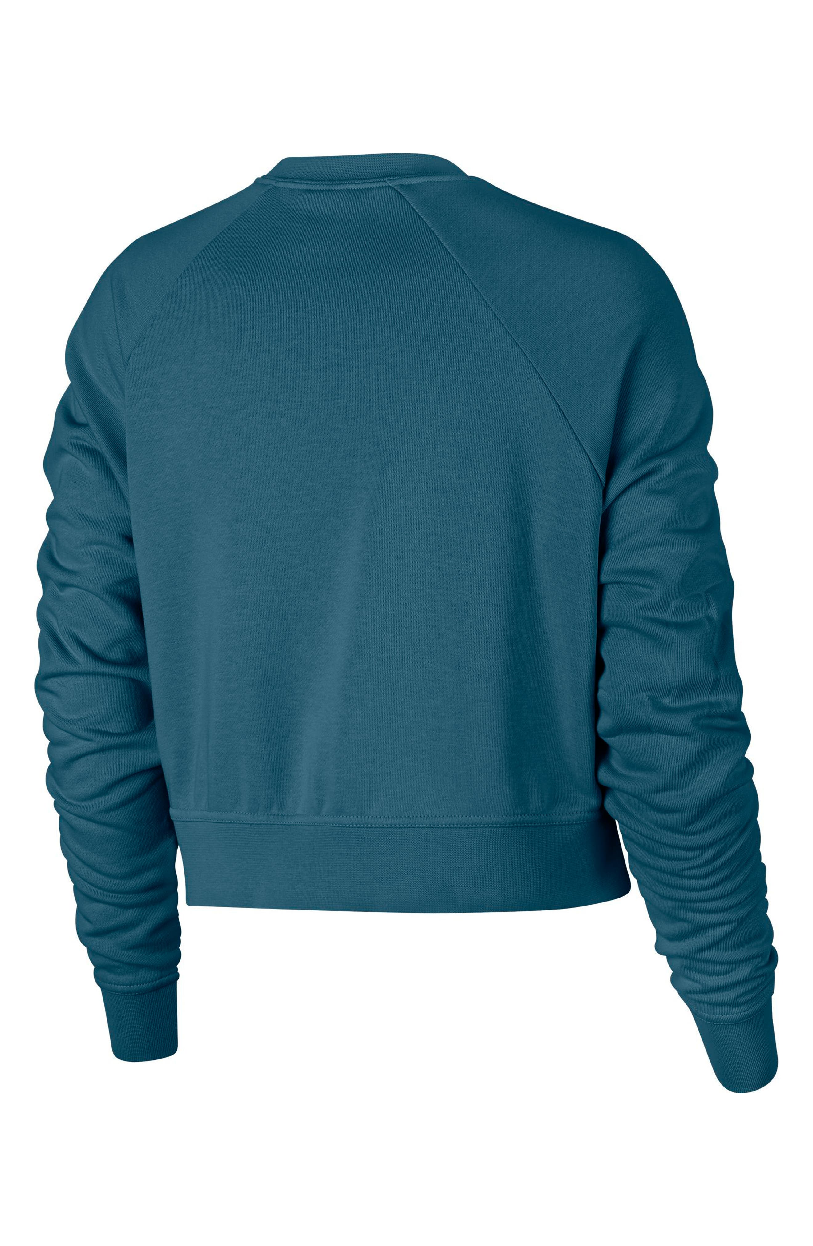 Long Sleeve Crop Training Top,                             Alternate thumbnail 27, color,
