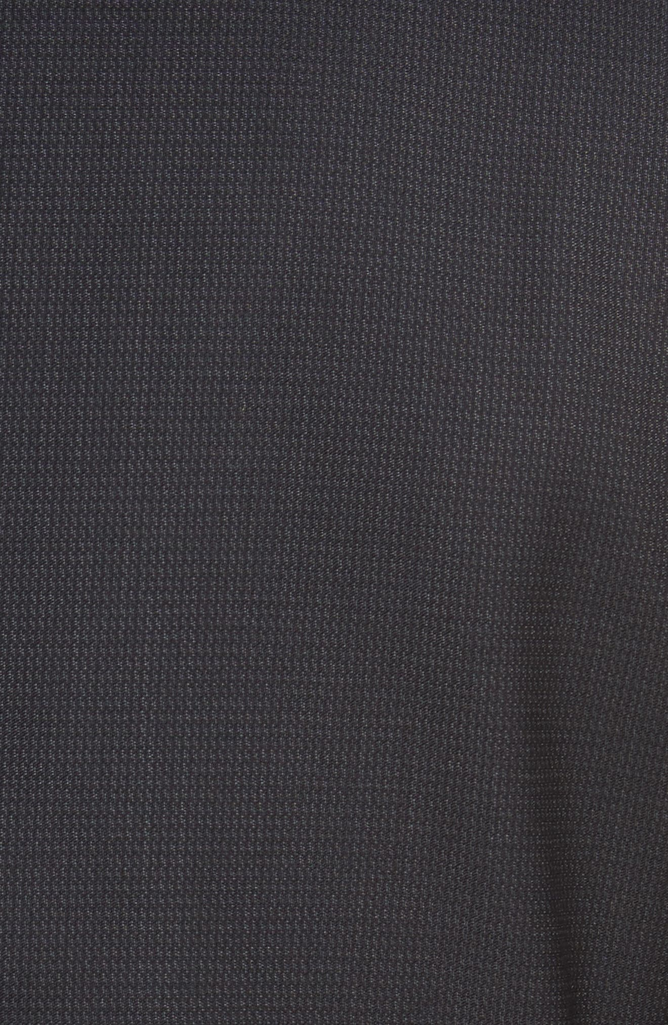 Roger Trim Fit Solid Wool Suit,                             Alternate thumbnail 7, color,                             001