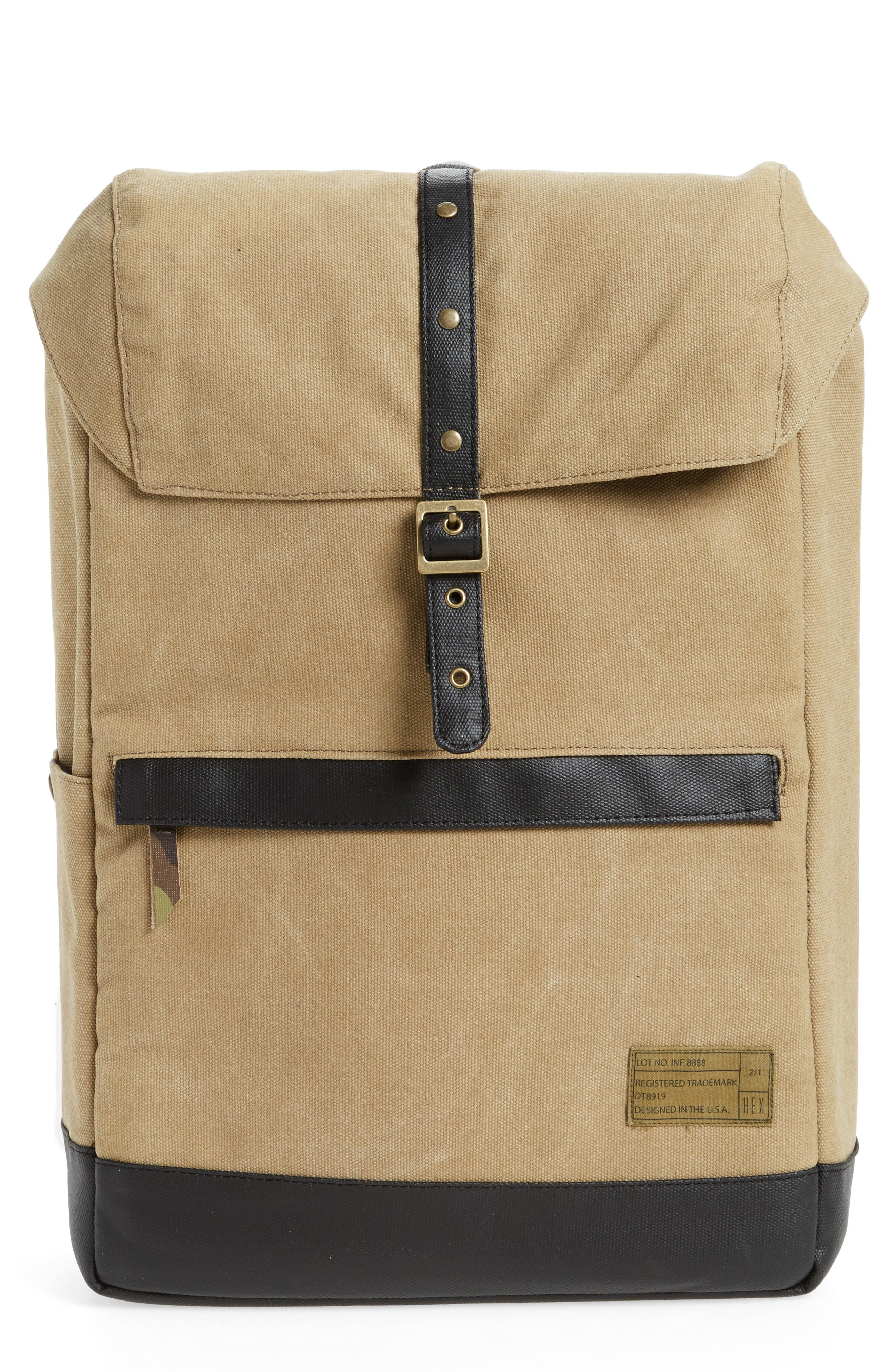 'Alliance' Water Resistant Backpack,                             Main thumbnail 1, color,                             265