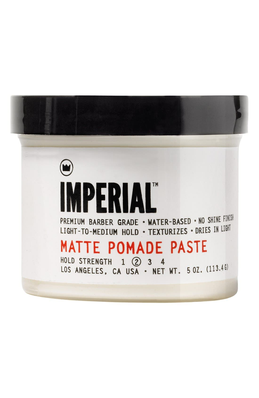 Matte Pomade Paste,                             Main thumbnail 1, color,                             000