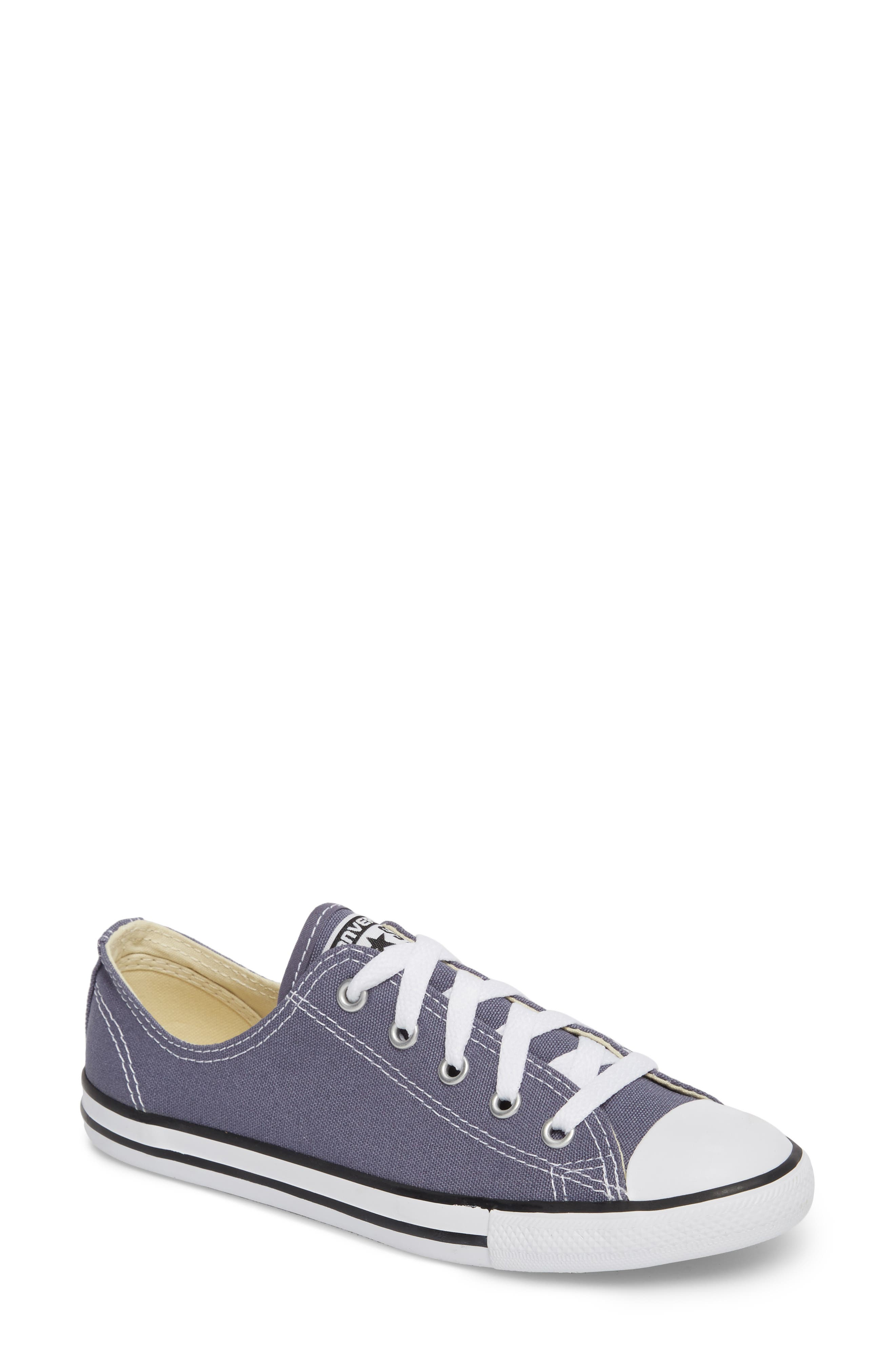 Chuck Taylor<sup>®</sup> All Star<sup>®</sup> Dainty Ox Low Top Sneaker,                             Main thumbnail 1, color,                             023
