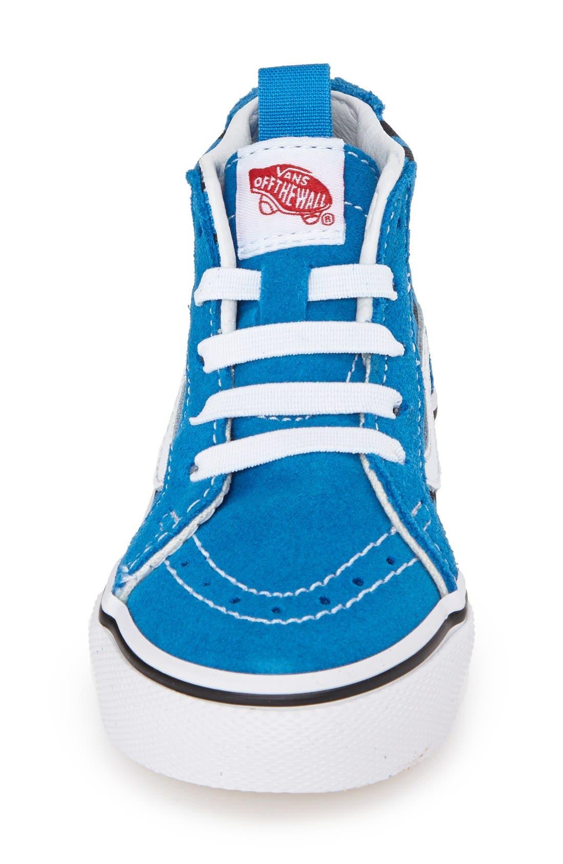 'Sk8-Hi' Zip Sneaker,                             Alternate thumbnail 15, color,