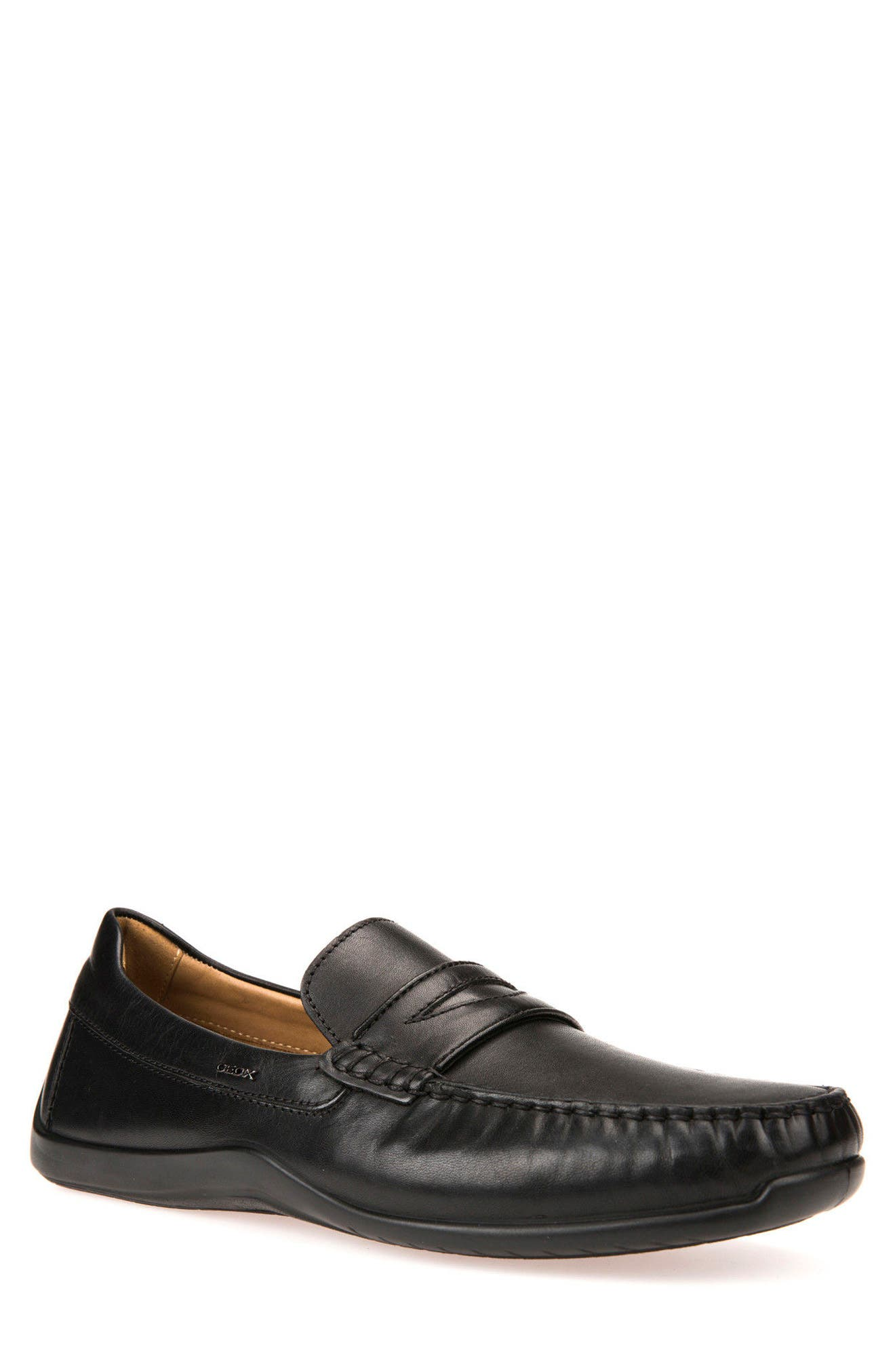 Xense Penny Loafer,                             Main thumbnail 1, color,                             001