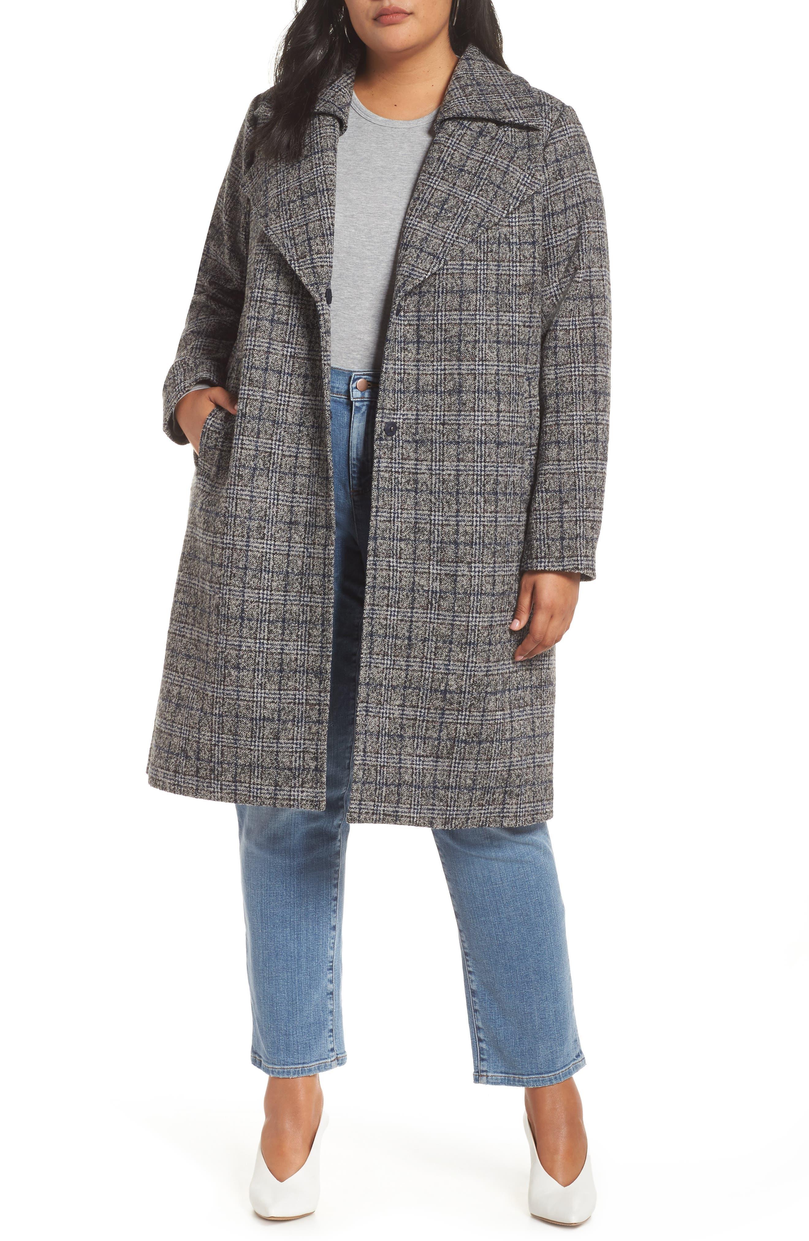 Double Fold Collar Coat,                         Main,                         color, 450