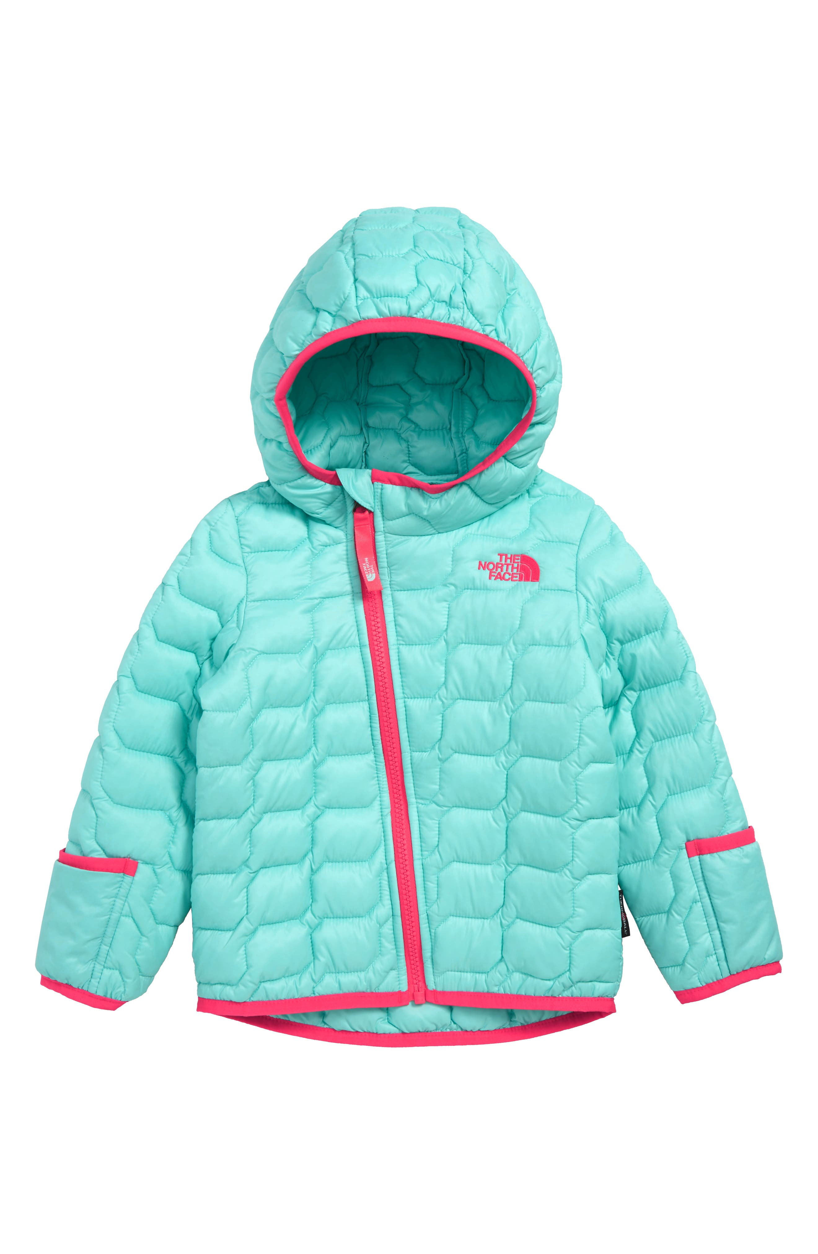 ThermoBall<sup>™</sup> Hooded Jacket,                             Main thumbnail 1, color,                             MINT BLUE
