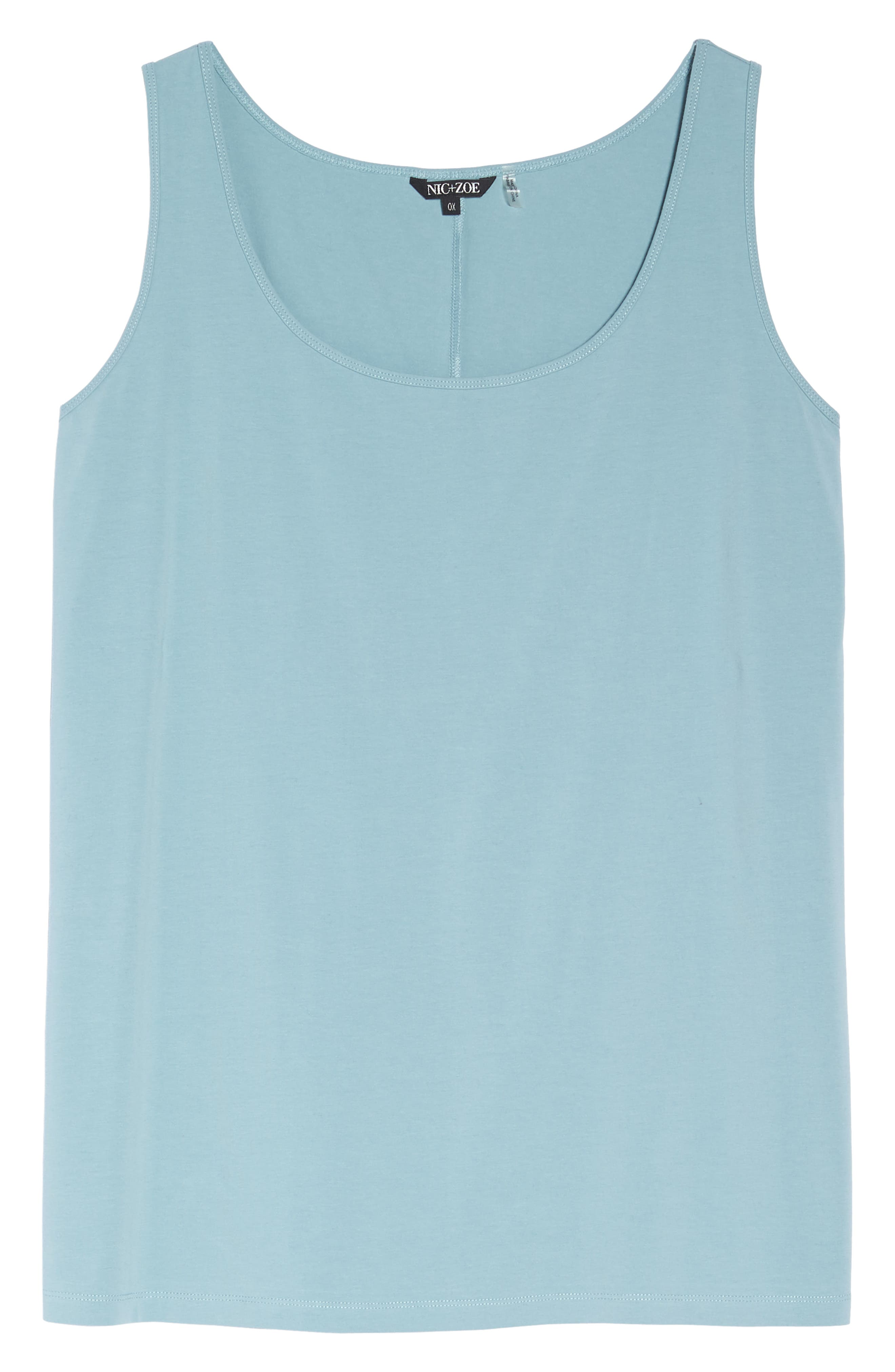 Perfect Scoop Tank,                             Alternate thumbnail 6, color,                             SEAFOAM