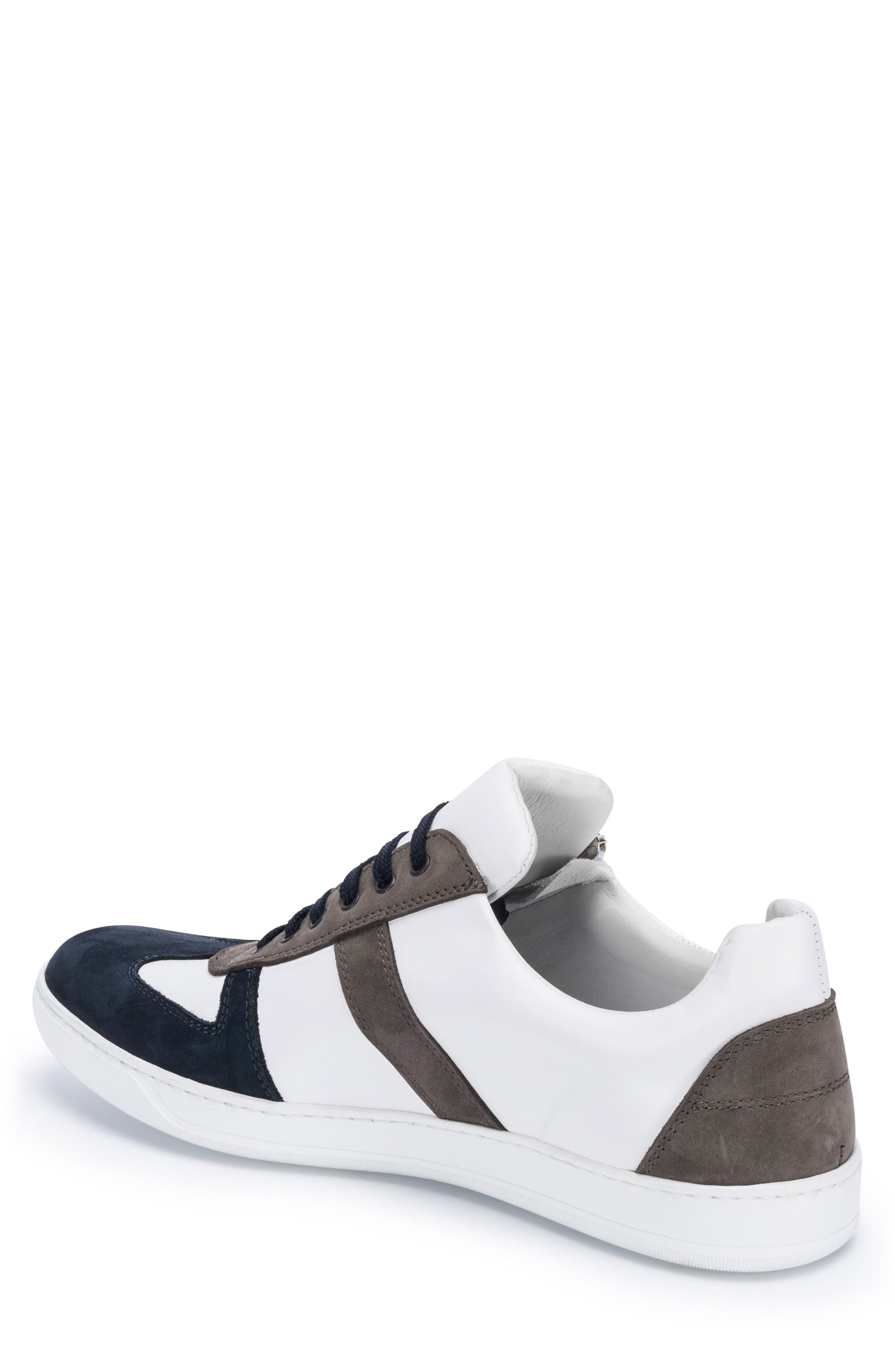 Calabria Sneaker,                             Alternate thumbnail 2, color,                             WHITE
