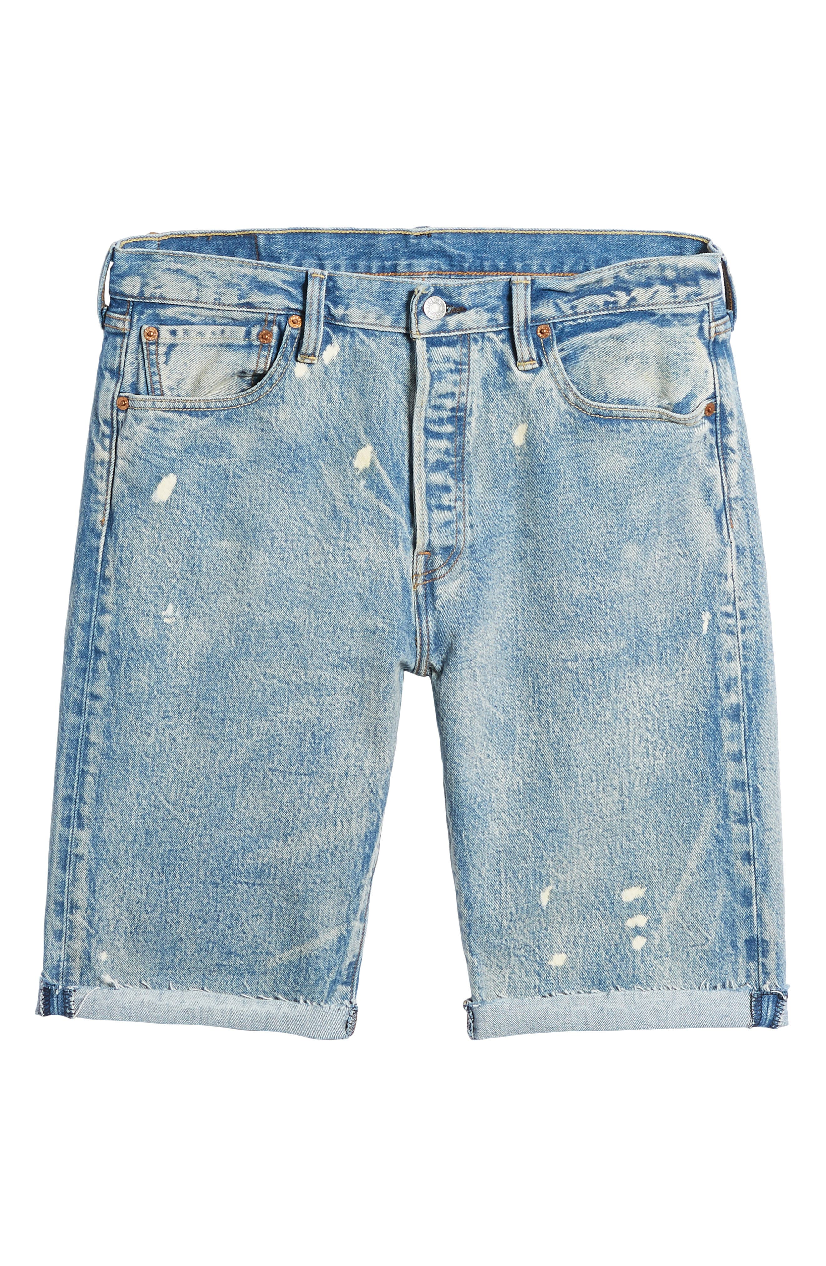 511<sup>™</sup> Slim Fit Cutoff Denim Shorts,                             Alternate thumbnail 6, color,                             420