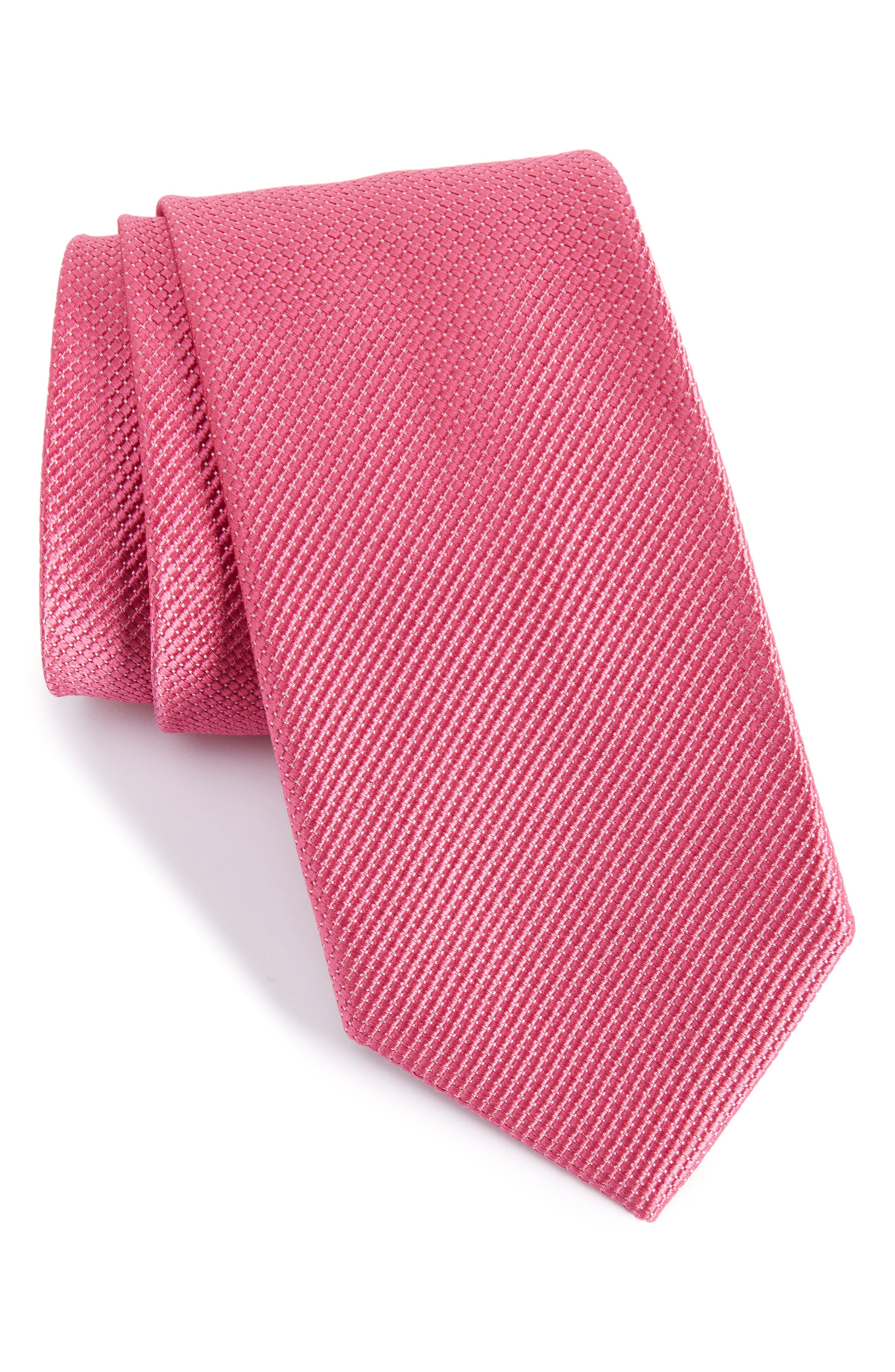 Solid Silk Tie,                             Main thumbnail 40, color,