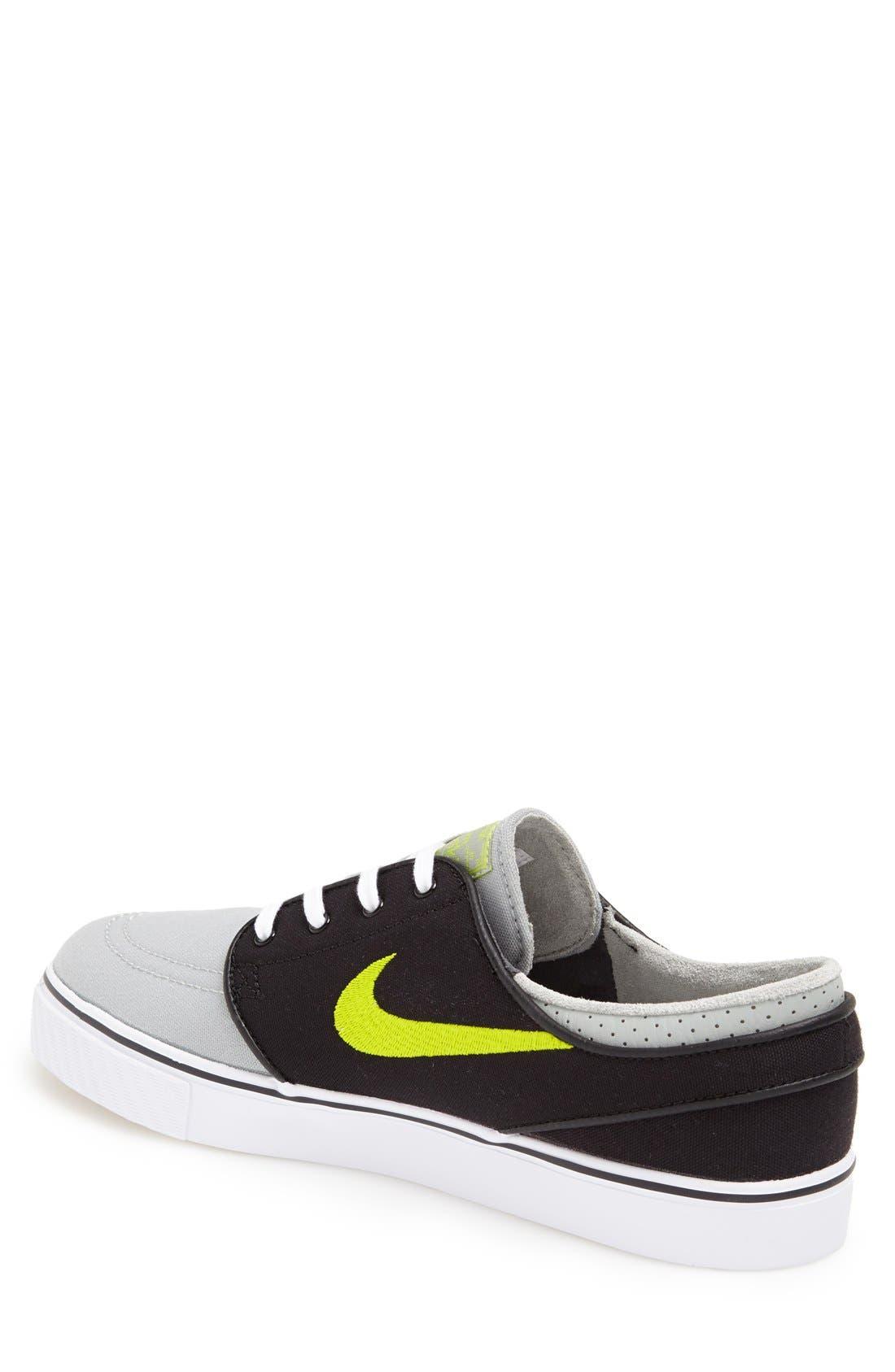 Zoom - Stefan Janoski SB Canvas Skate Shoe,                             Alternate thumbnail 103, color,