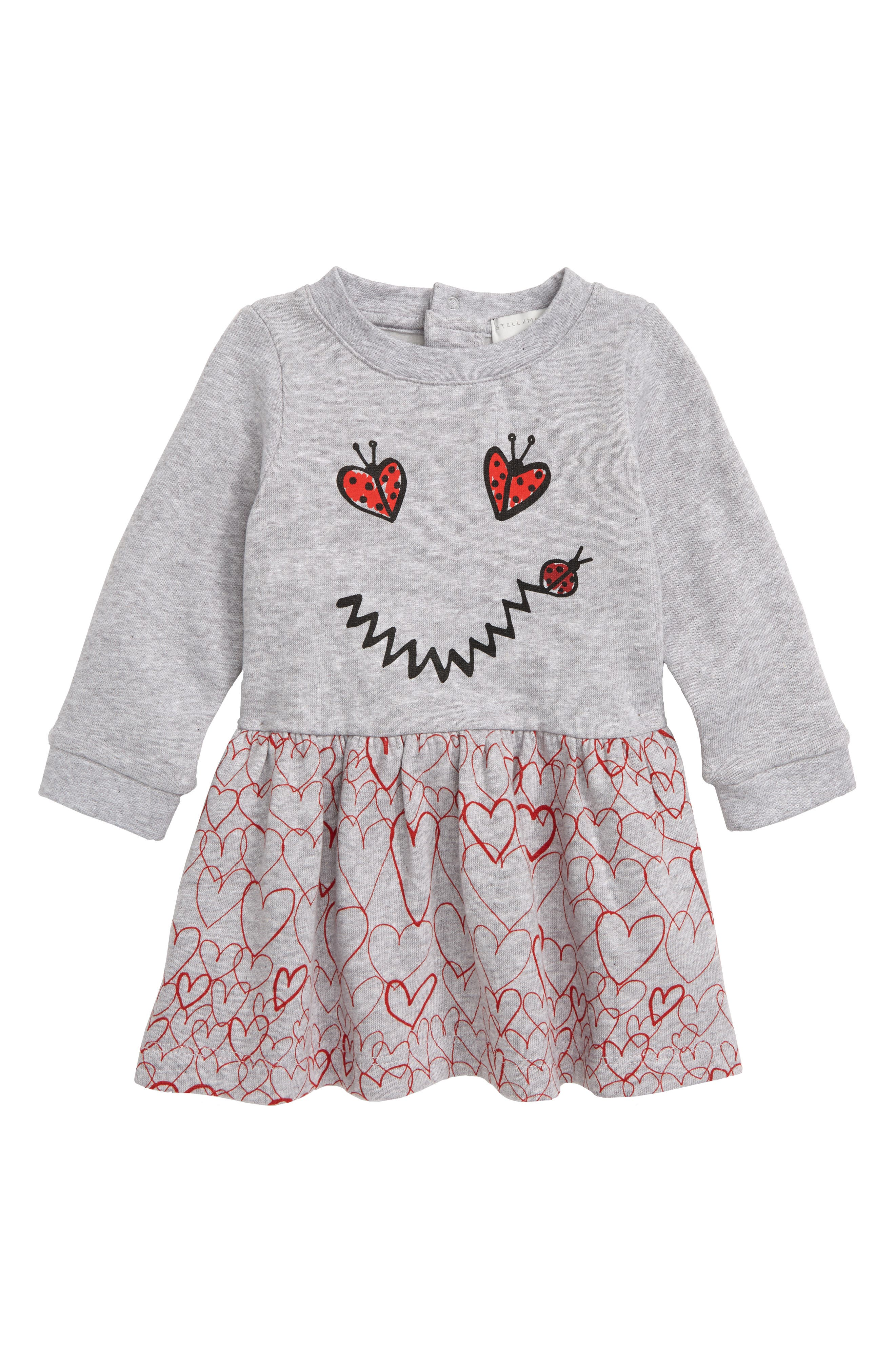 Smiley Heart Dress,                         Main,                         color, 020