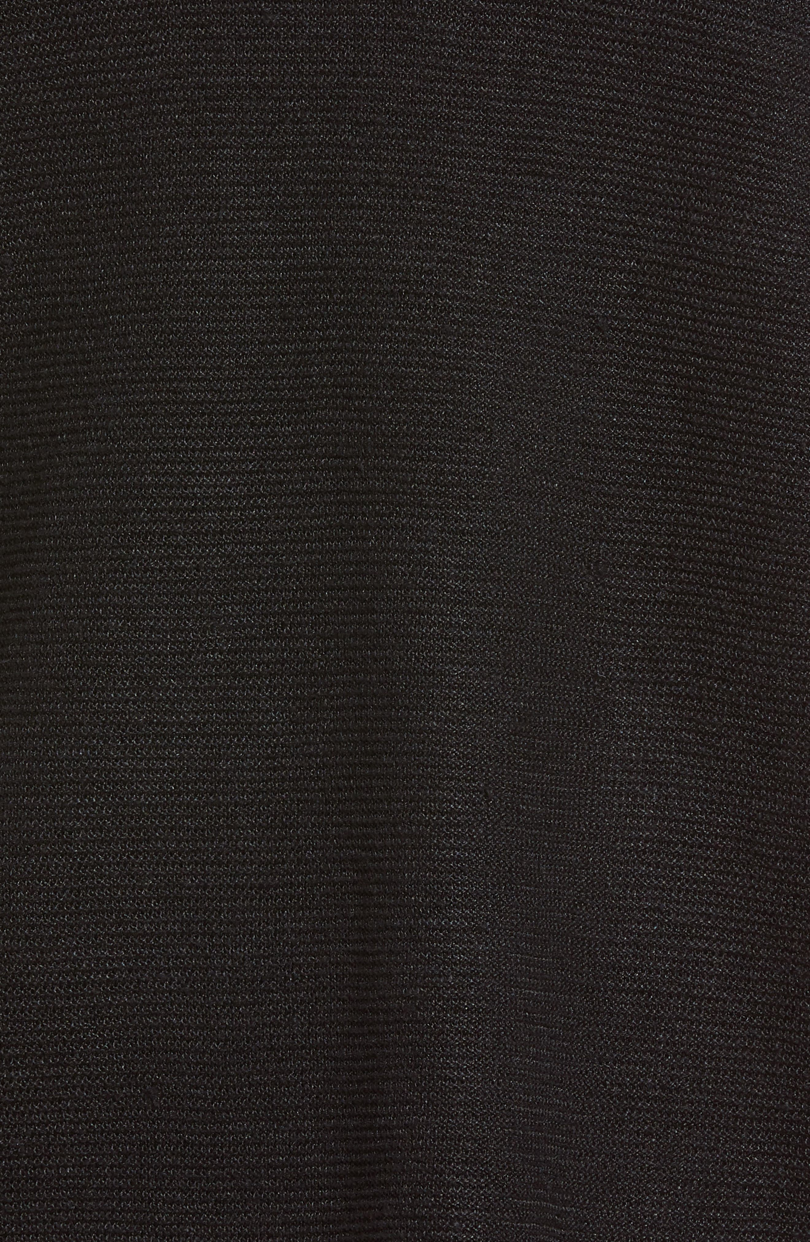 V-Neck Organic Linen Top,                             Alternate thumbnail 6, color,                             001