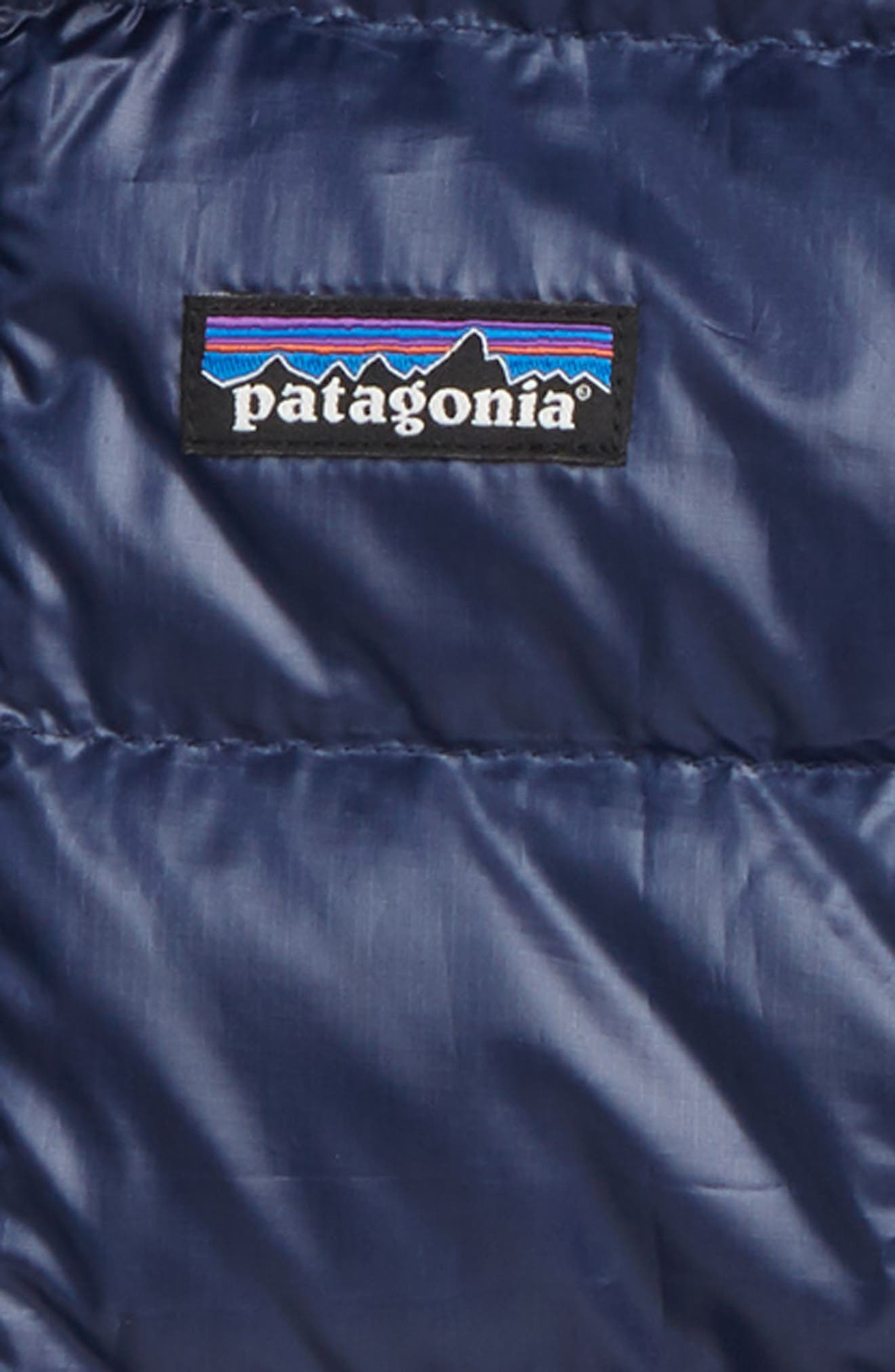 PATAGONIA,                             Hi-Loft Water-Repellent 600-Fill Power Down Sweater Hoodie,                             Alternate thumbnail 2, color,                             CNY CLASSIC NAVY