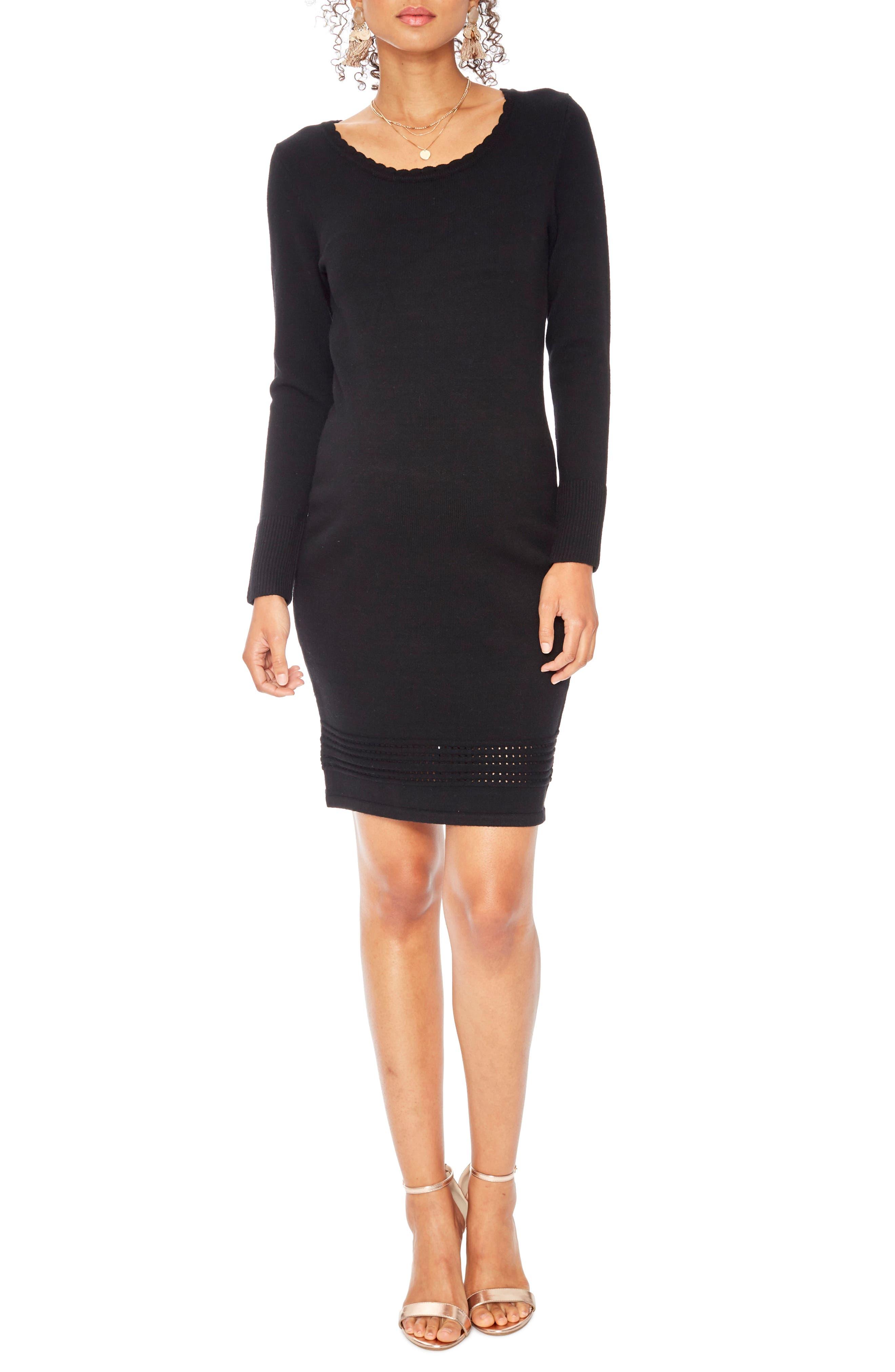 Rosie Pope Savannah Maternity Dress, Black