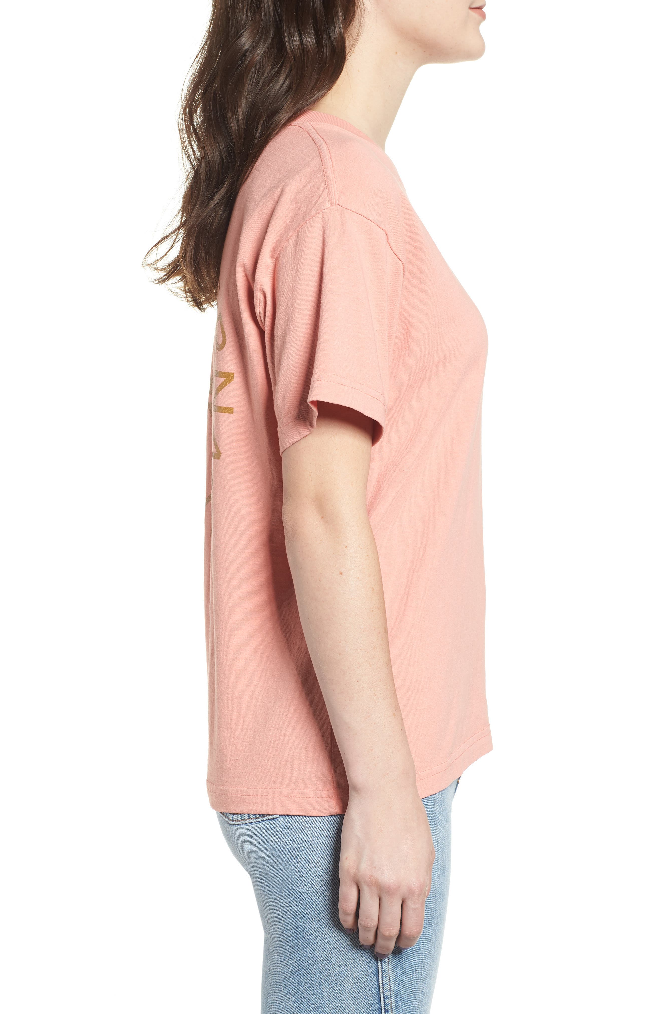 OBEY,                             Kiss of Obey Boxy Tee,                             Alternate thumbnail 3, color,                             950