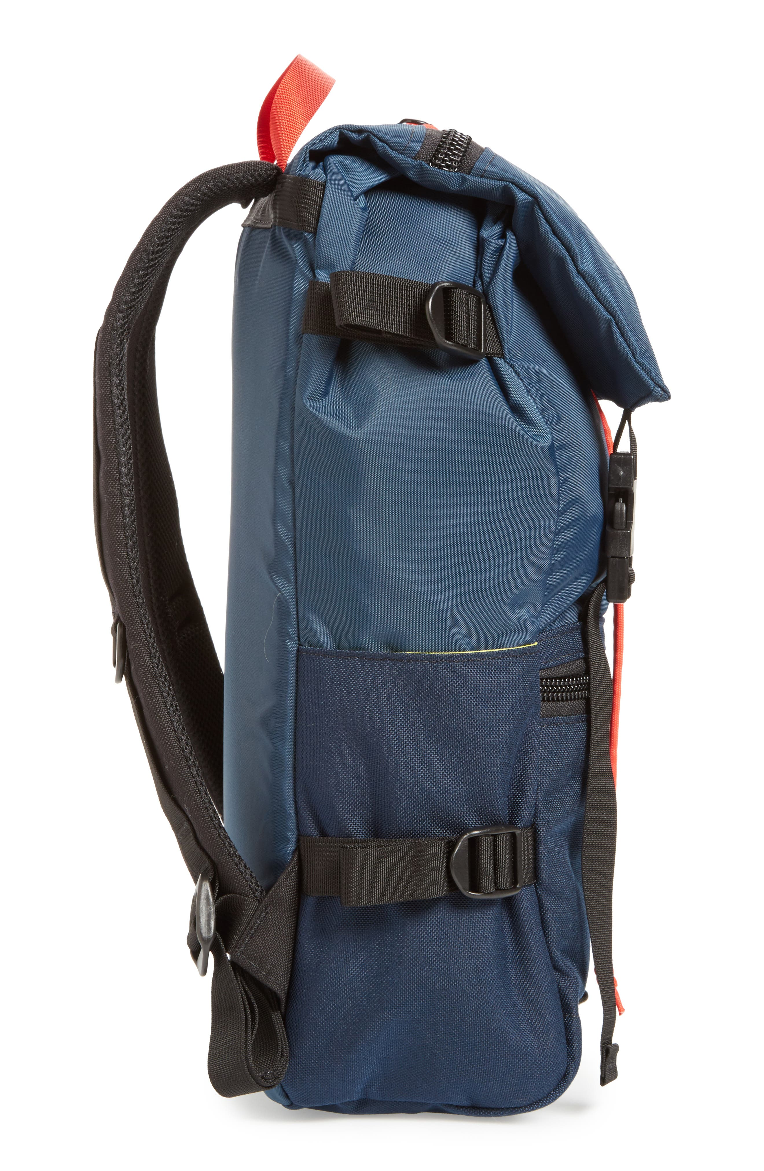 Rover Backpack,                             Alternate thumbnail 5, color,                             NAVY