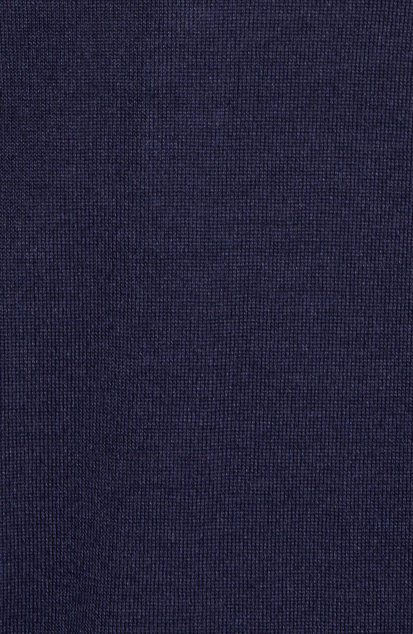 Wool Blend Quarter Zip Sweater,                             Alternate thumbnail 10, color,