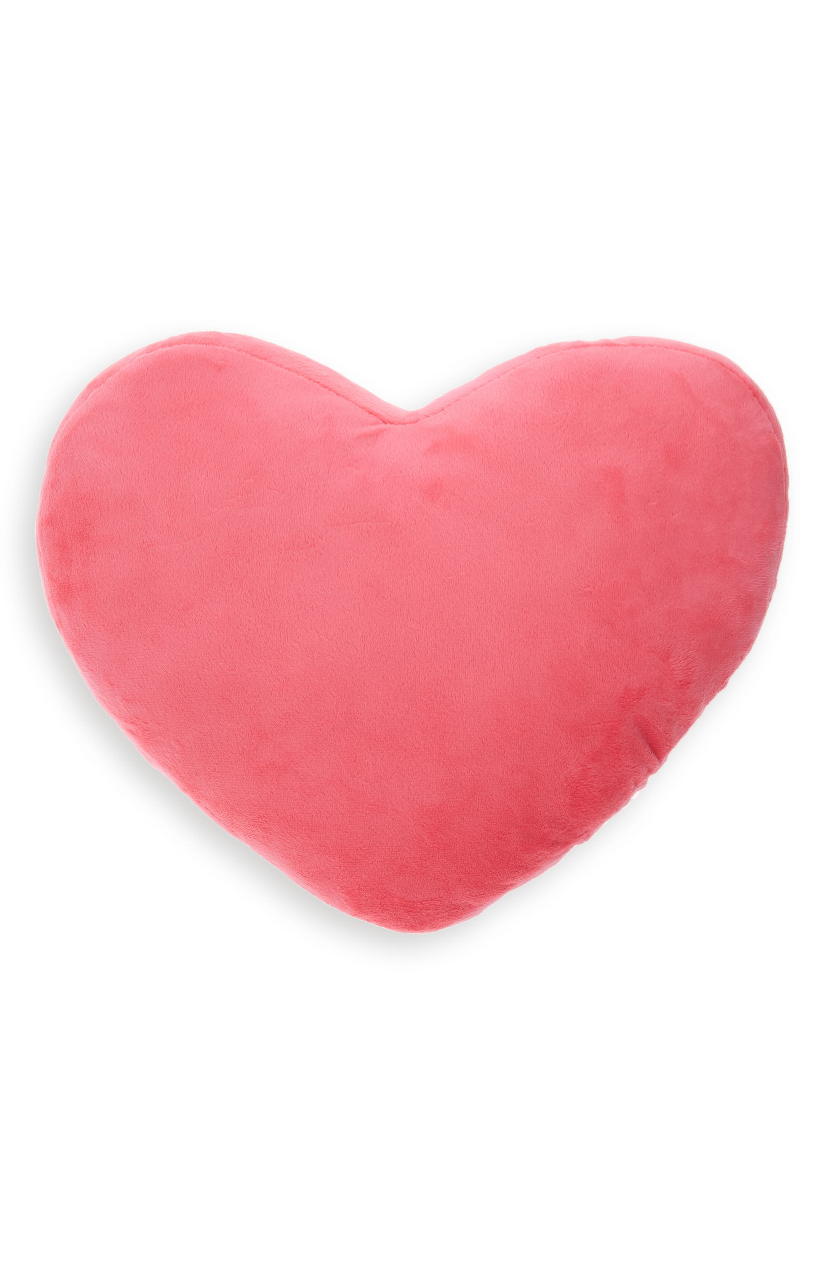 CAPELLI NEW YORK,                             Reversible Sequin Heart Pillow,                             Alternate thumbnail 2, color,                             PINK COMBO