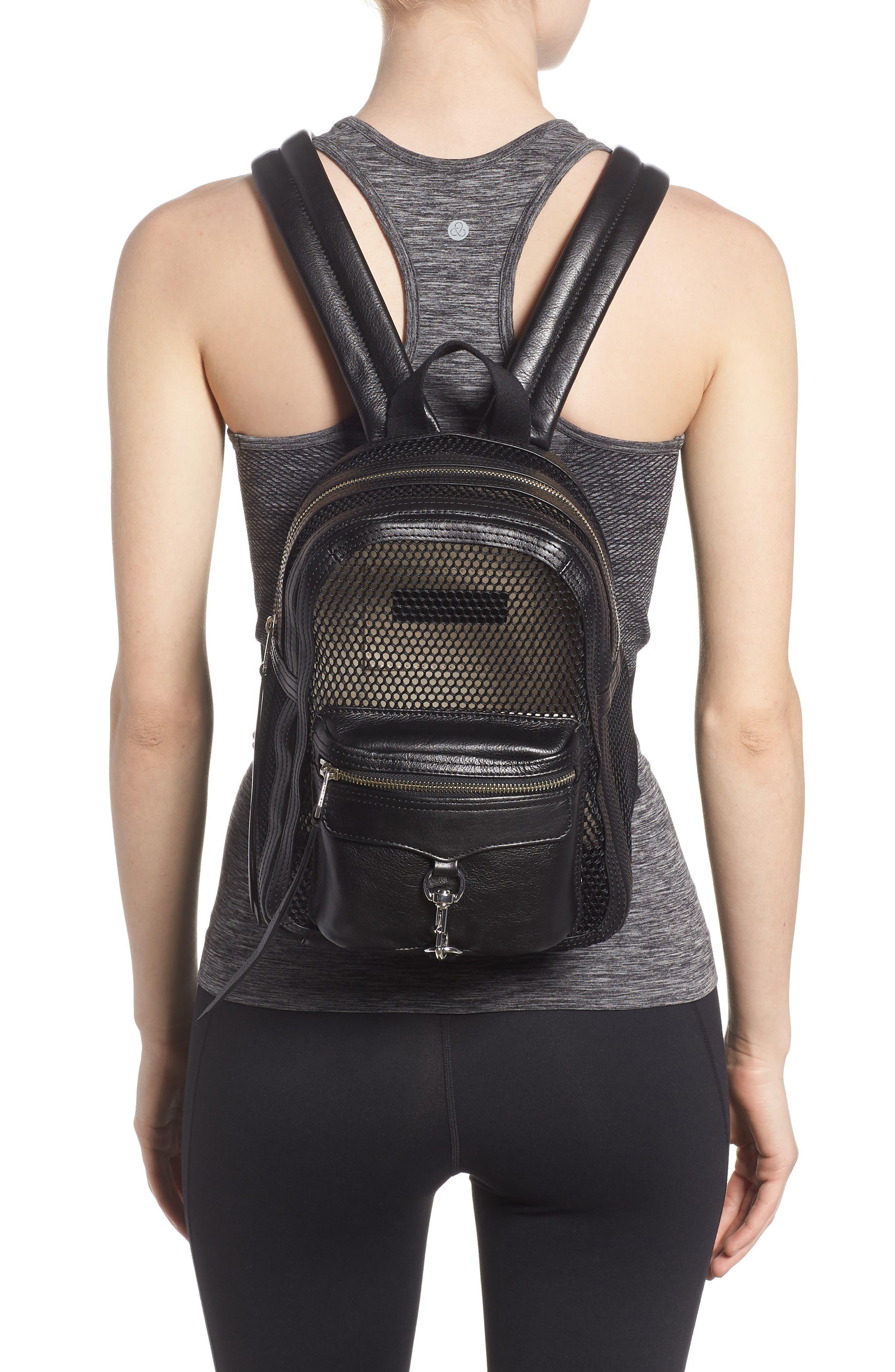 Small MAB Mesh Backpack,                             Alternate thumbnail 4, color,