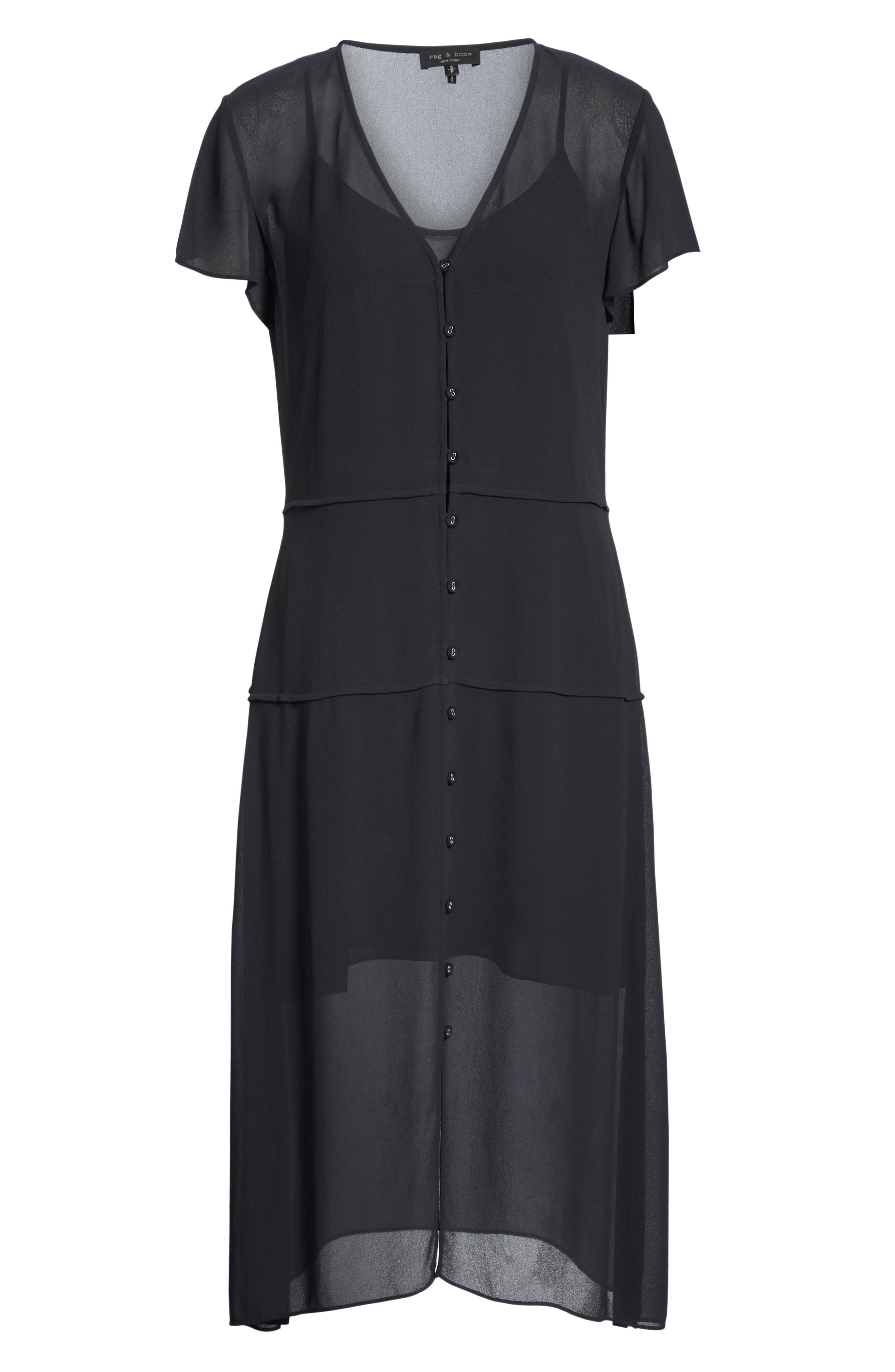 McCormick Dress,                             Alternate thumbnail 6, color,                             001