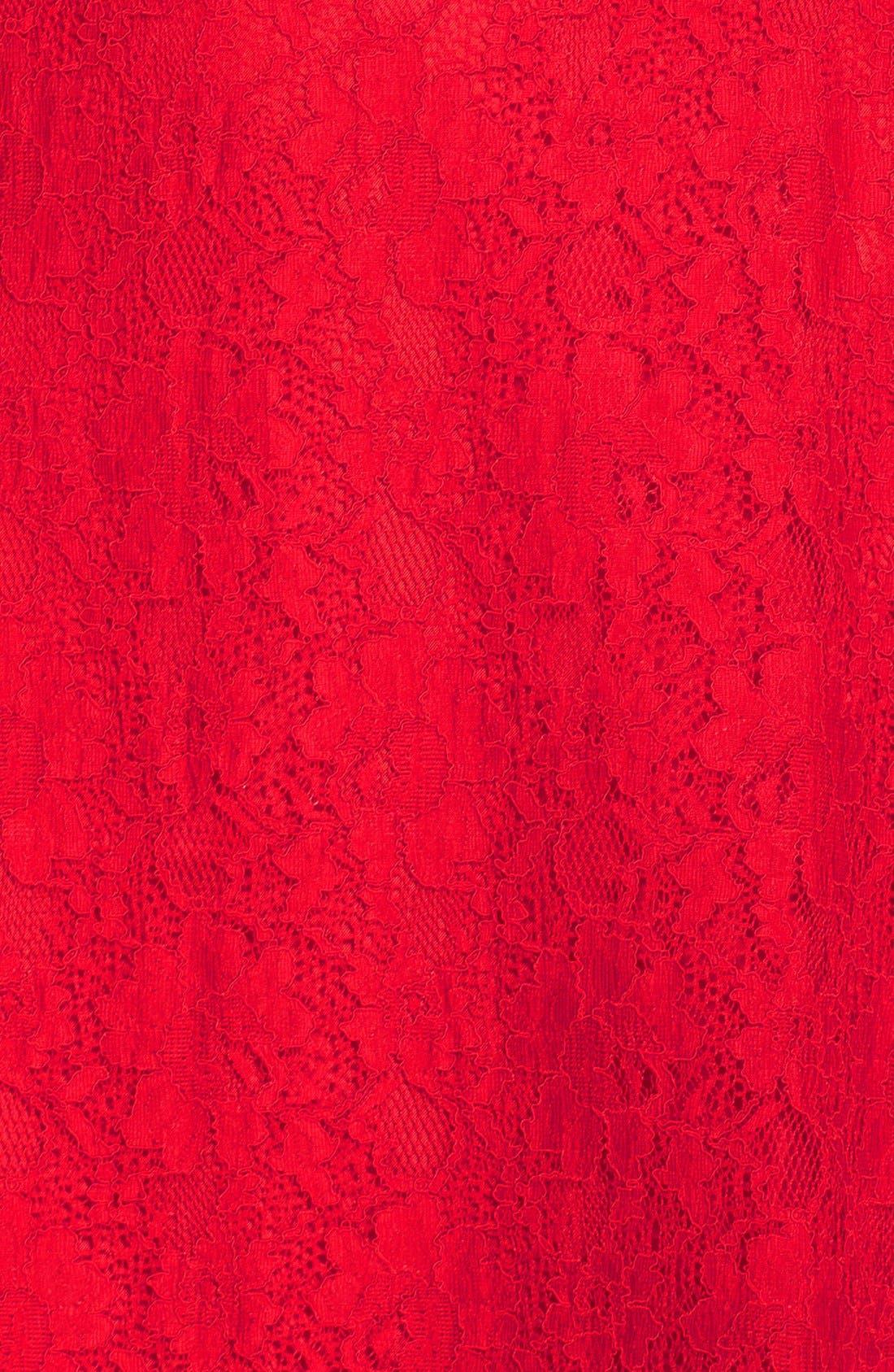 Fit & Flare Dress,                             Alternate thumbnail 9, color,