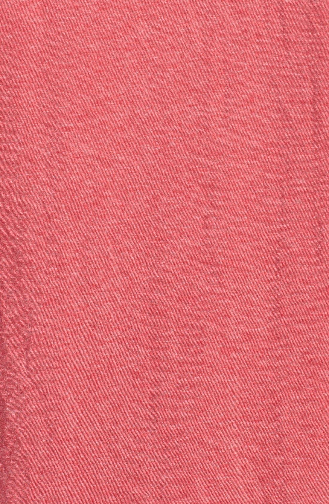 'California Angels' Graphic V-Neck T-Shirt,                             Alternate thumbnail 5, color,