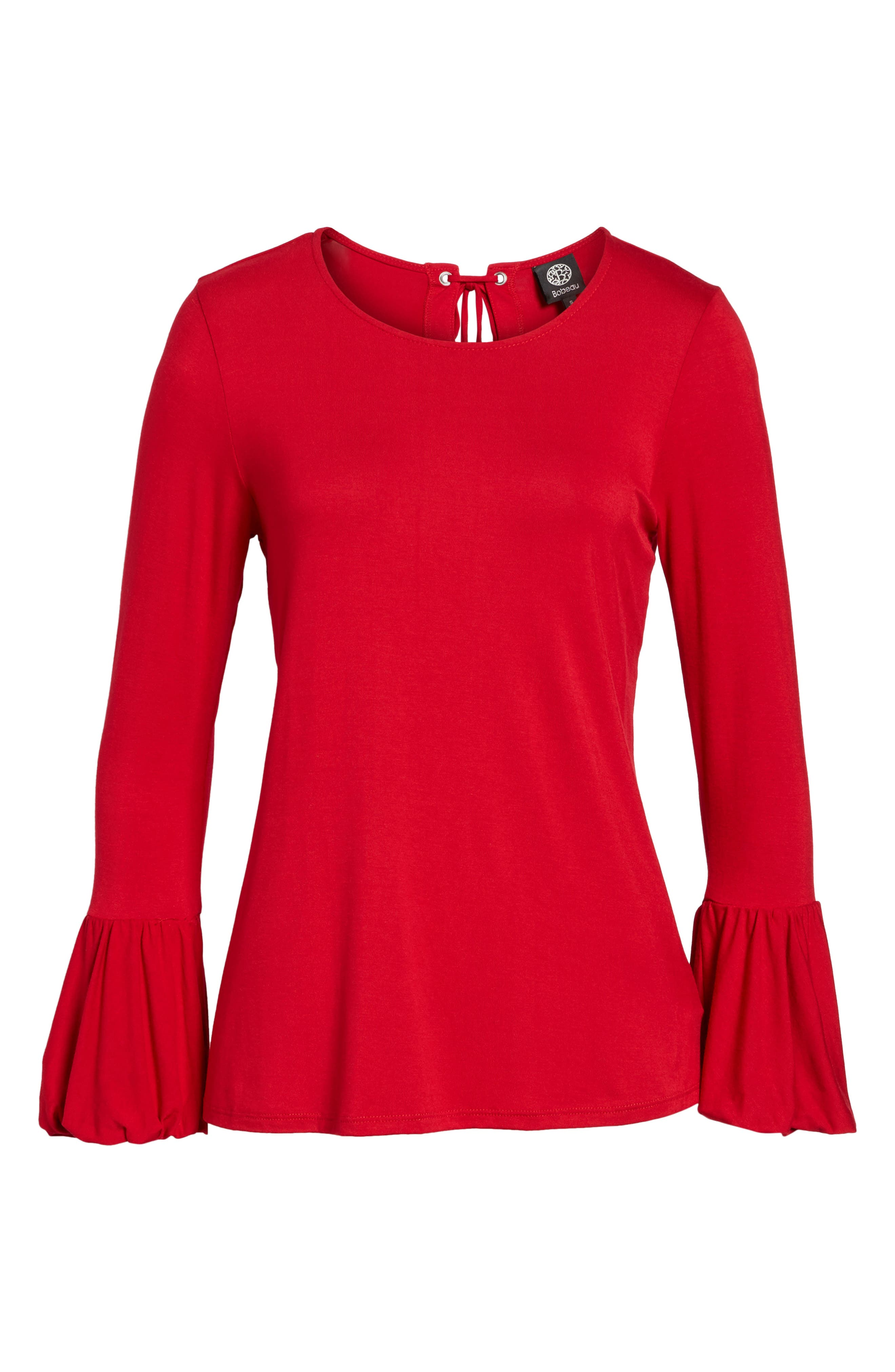 Bell Sleeve Top,                             Alternate thumbnail 28, color,