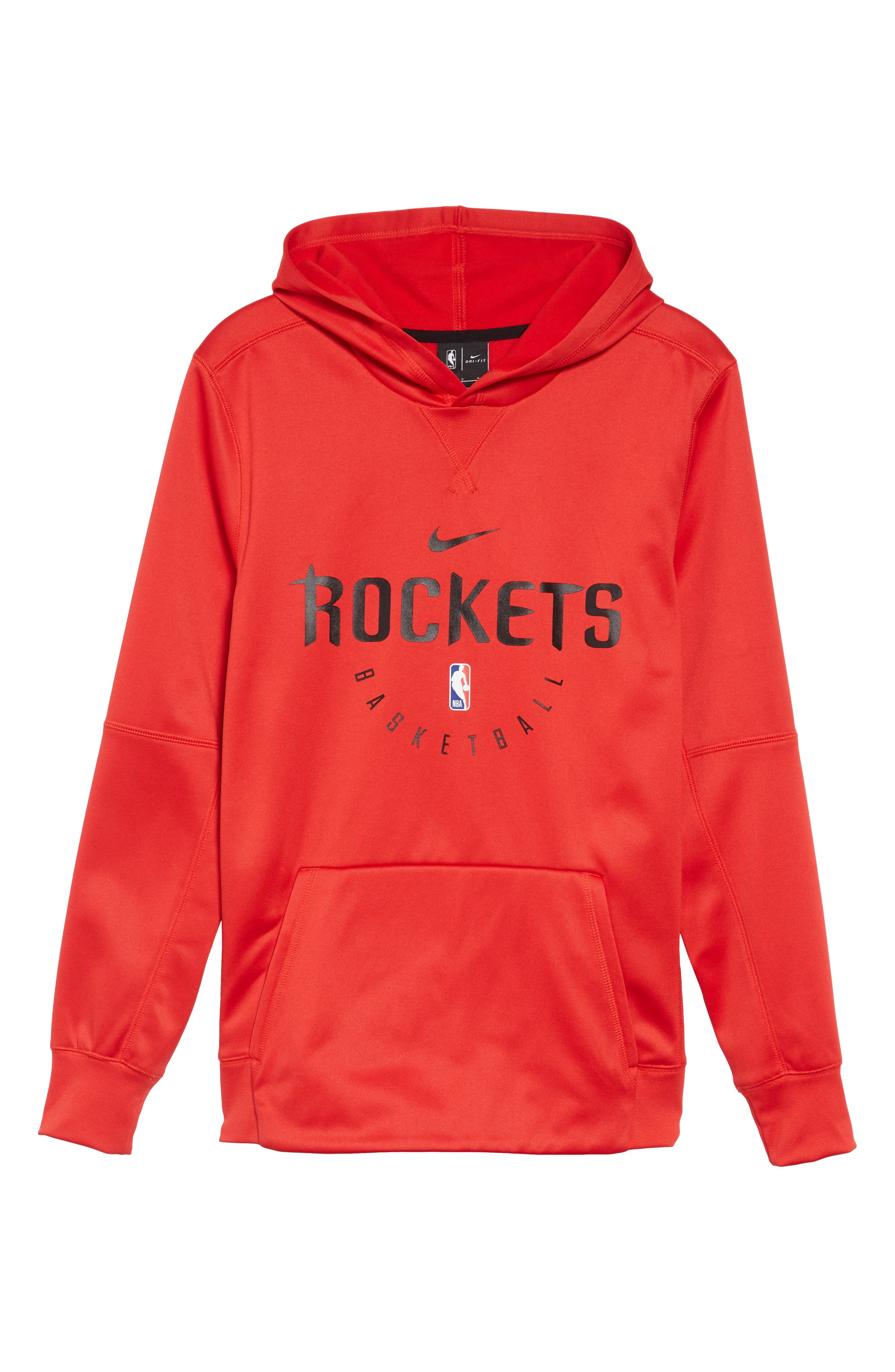 Chicago Bulls Spotlight Dri-FIT Pullover Hoodie, Main, color, UNIVERSITY RED