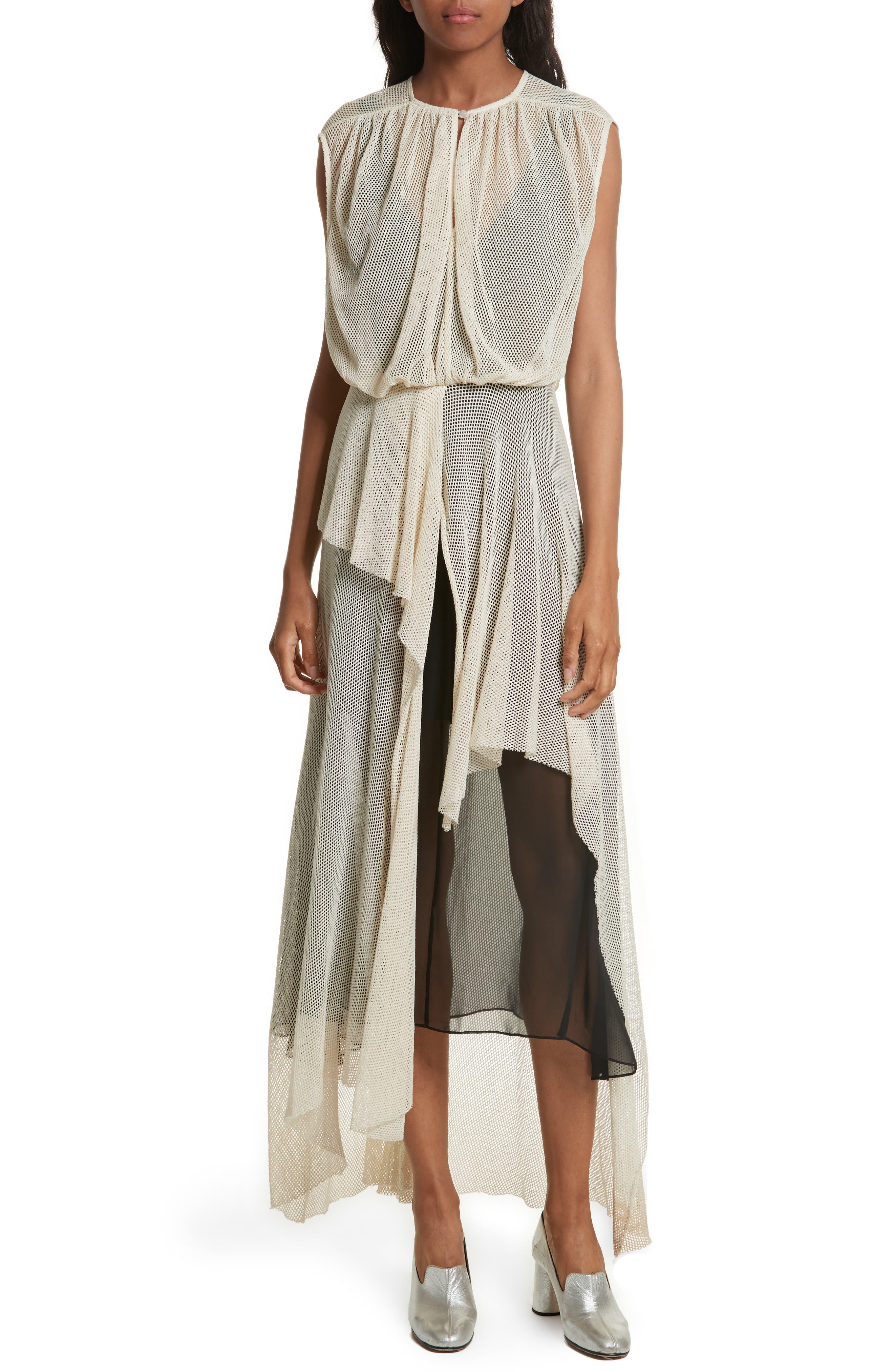Tangle Ruffle Midi Dress,                         Main,                         color, 250