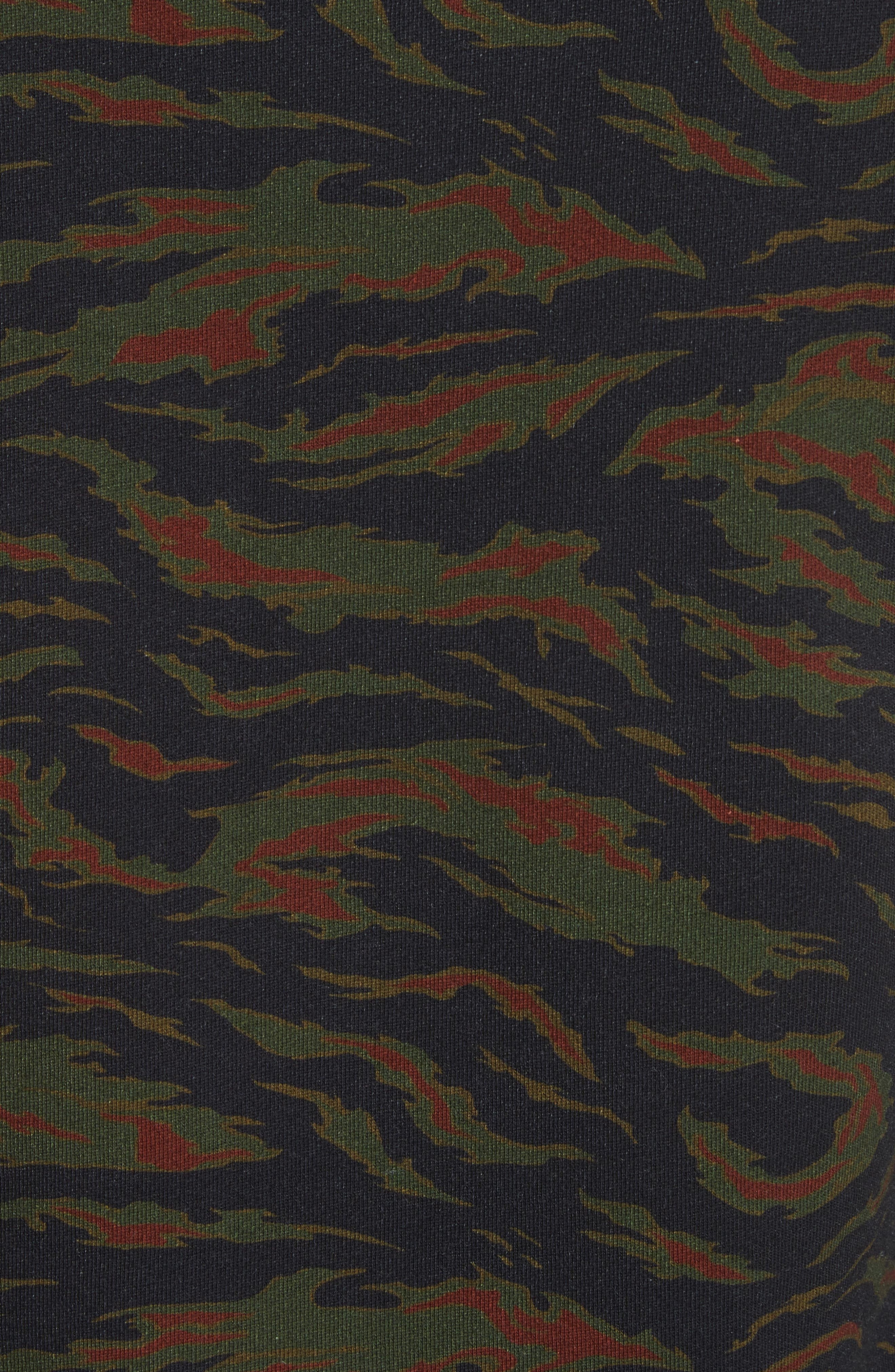 Camo Sweater,                             Alternate thumbnail 5, color,                             250